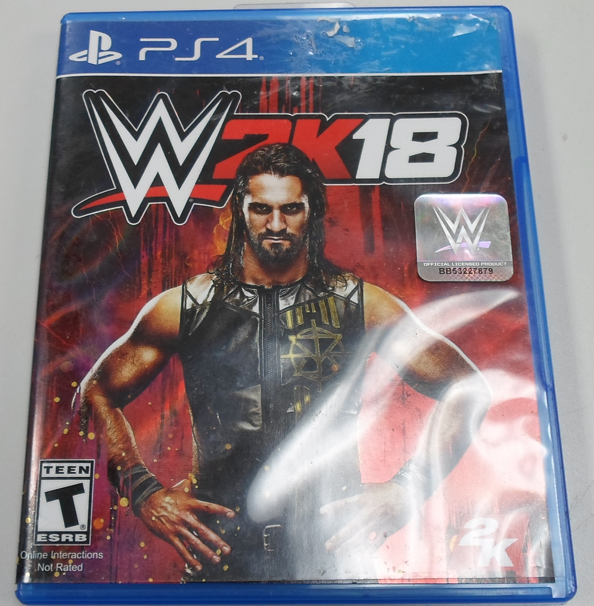WWE SK17  - PS 4 GAME