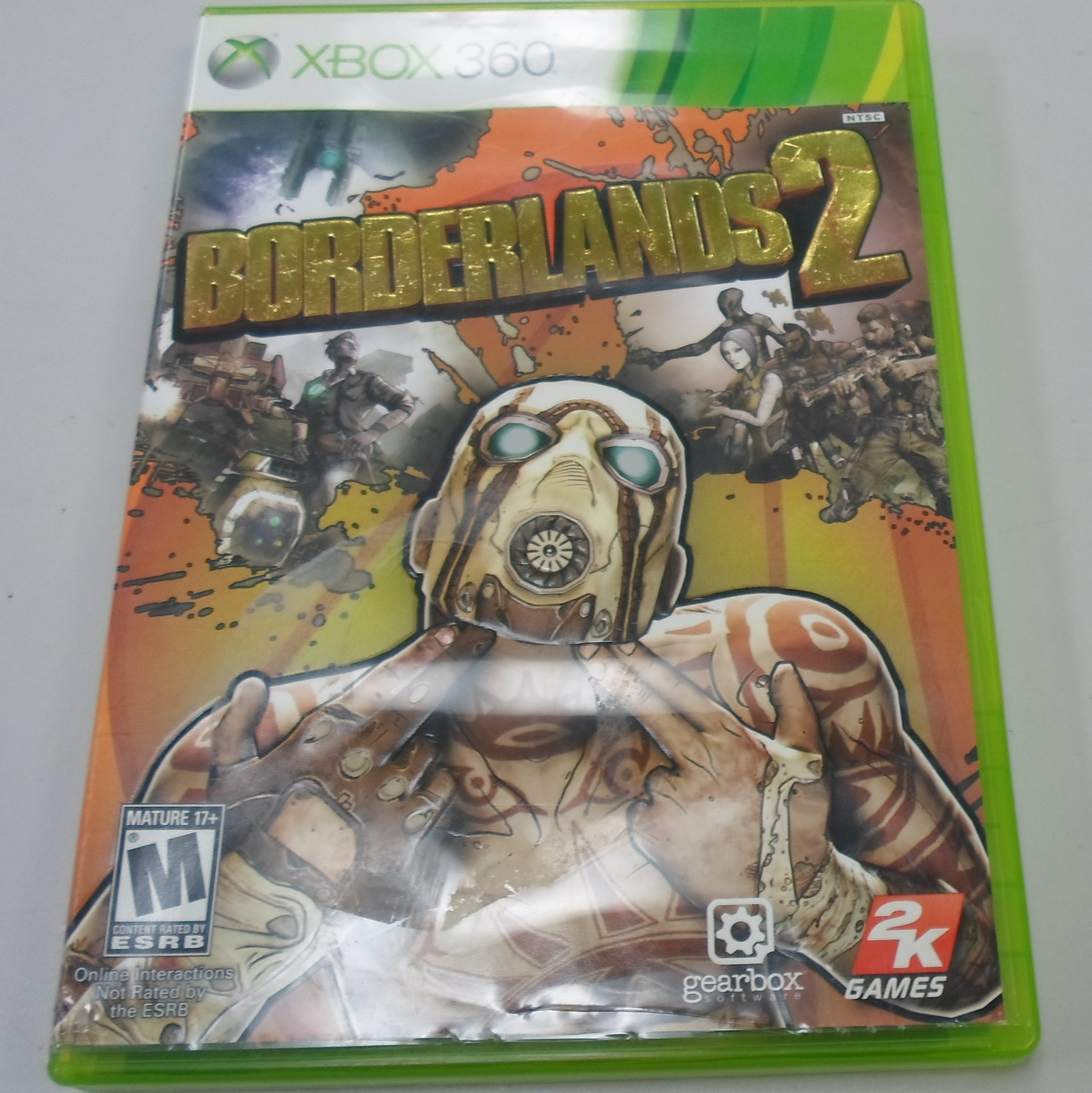 BORDERLANDS 2- XBOX 360 GAME