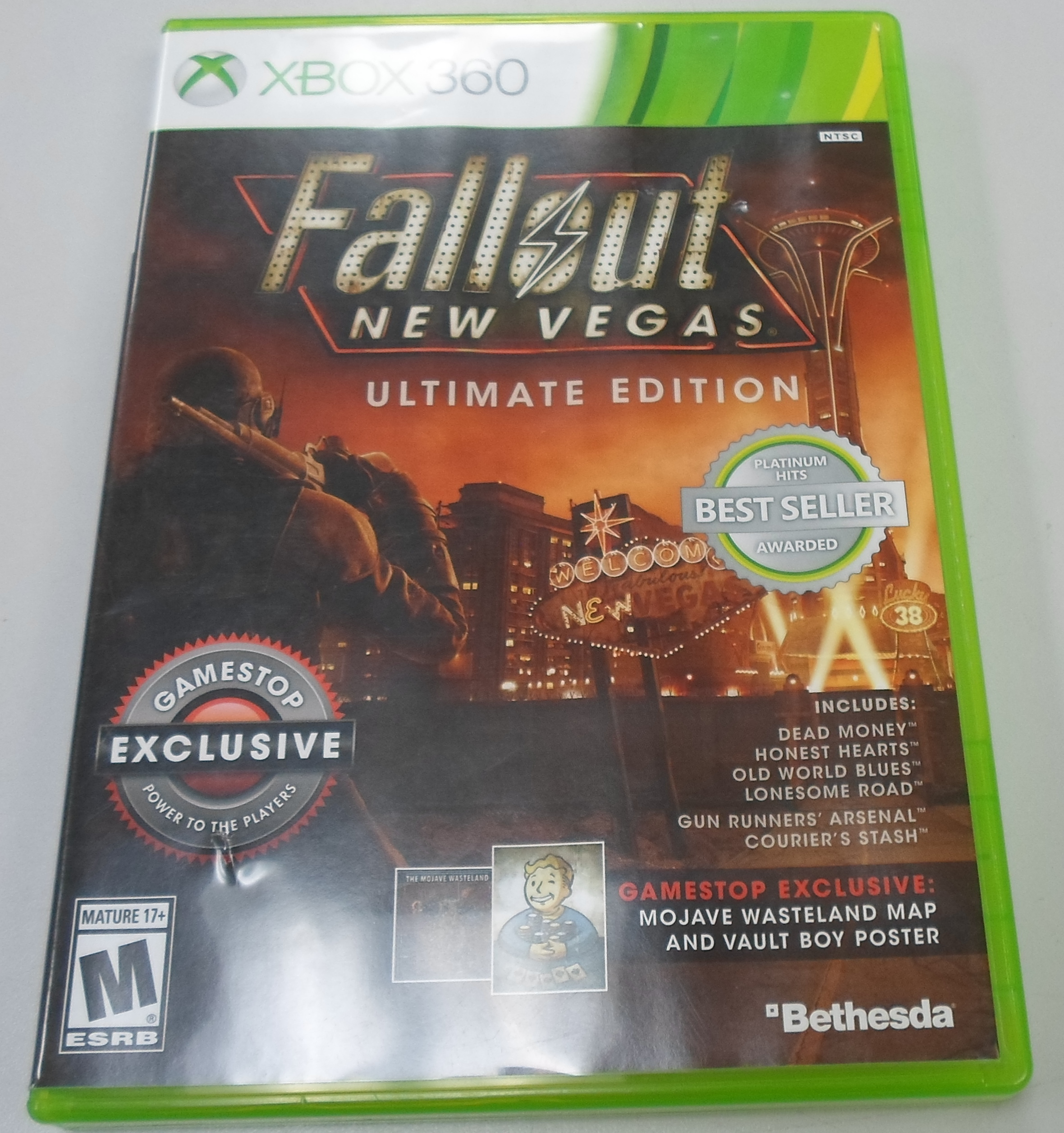 FALL OUT NEW VEGAS: ULTIMATE EDITION  - XBOX 360 GAME