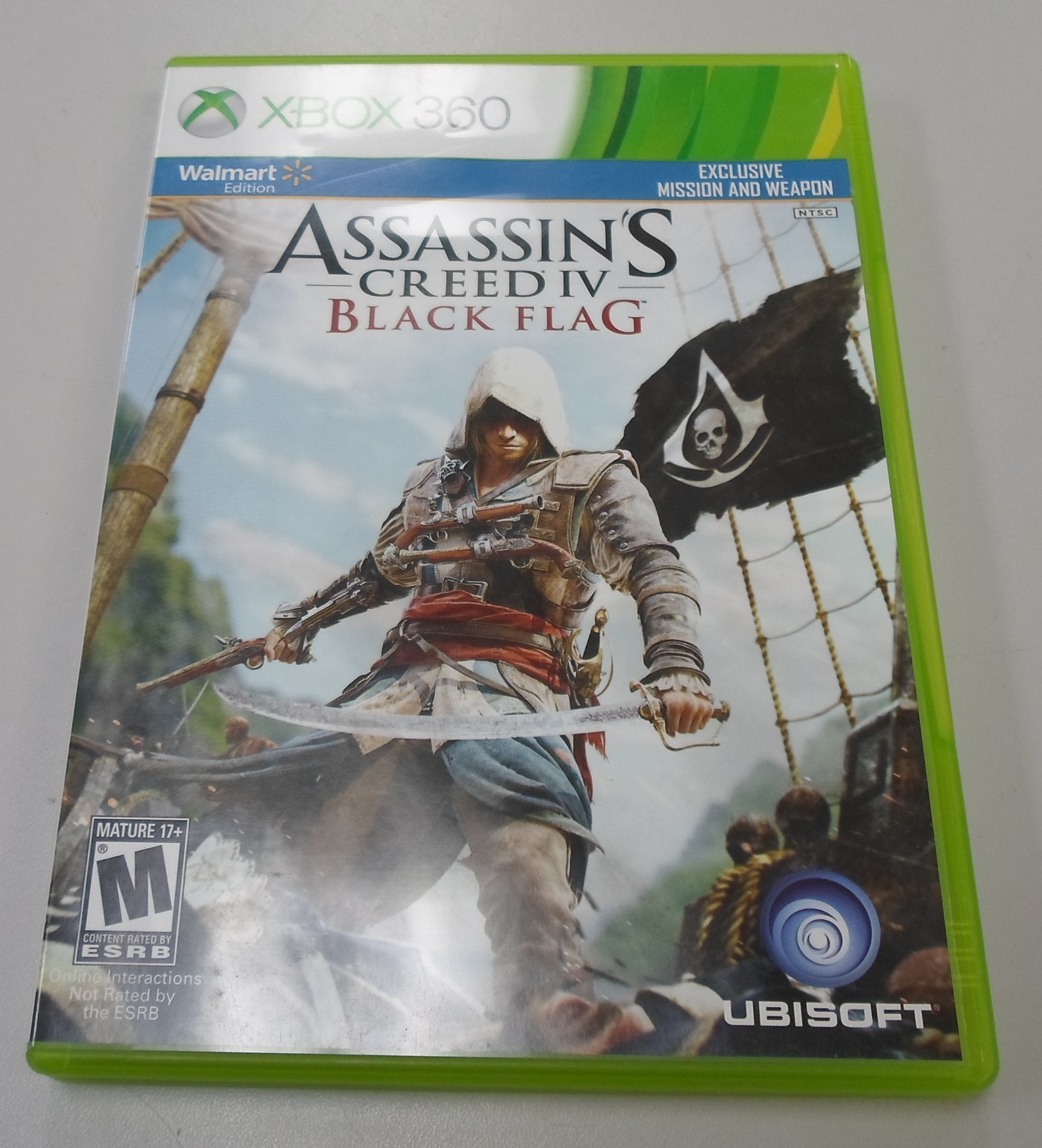ASSASSIN'S CREED IV: BLACK FLAG  - XBOX 360 GAME