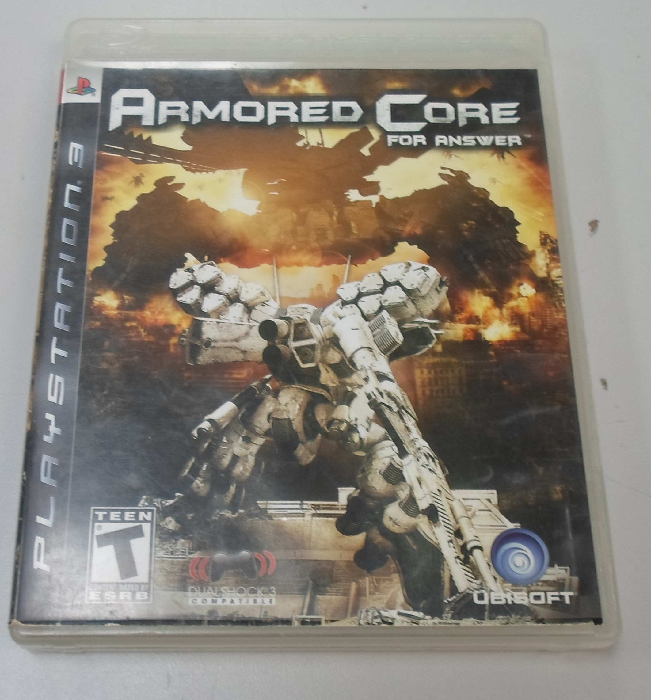 ARMORED CORE FOR ANSWER  - PLAYSTATION 3 GAME