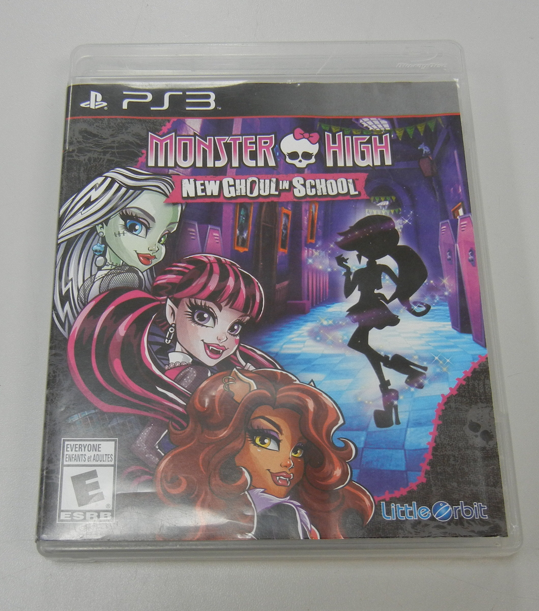 MONSTER HIGH: NEW GHOUL IN SCHOOL - PS 3 GAME