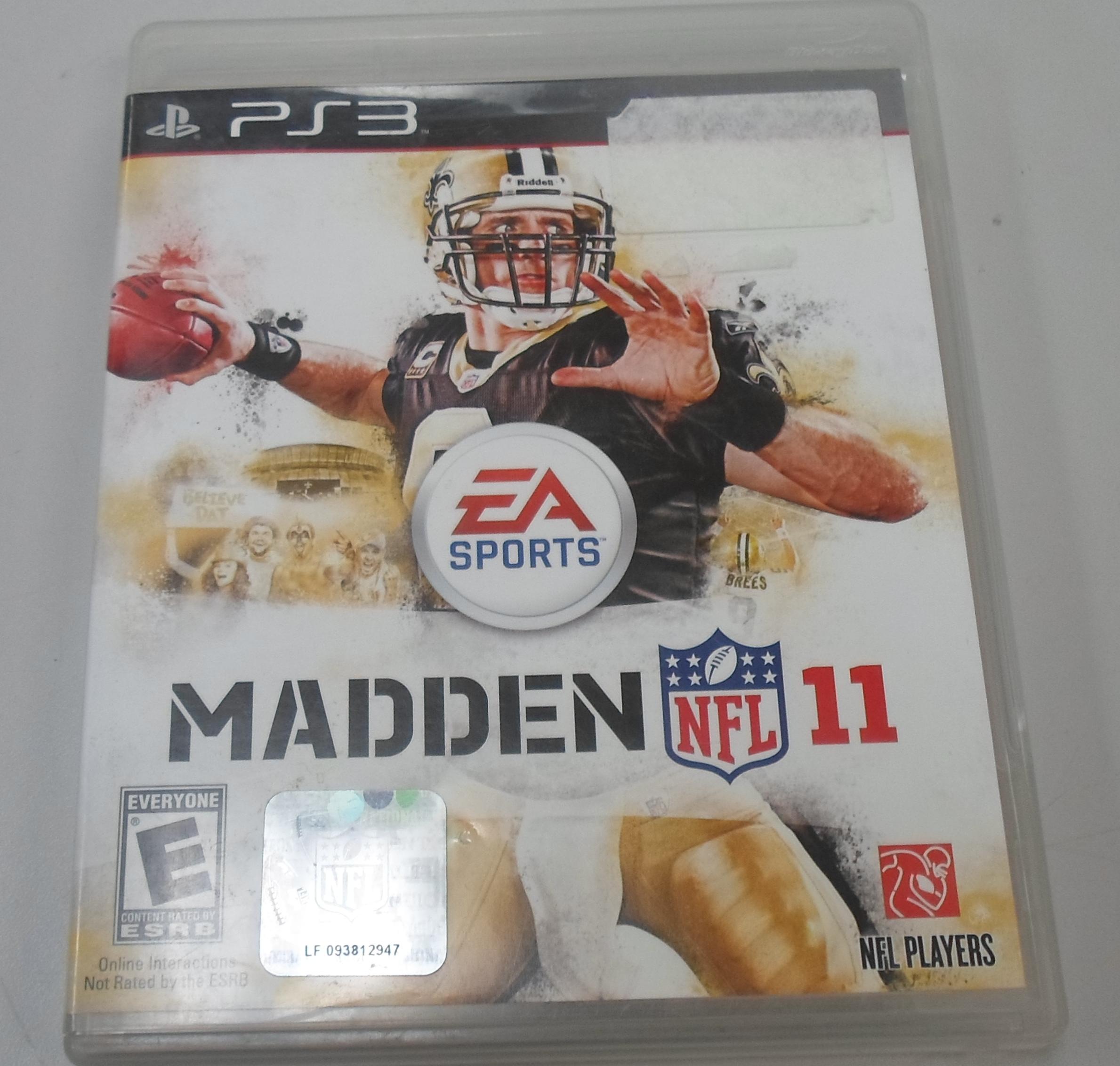 MADDEN NFL 11 - PLAYSTATION 3 GAME