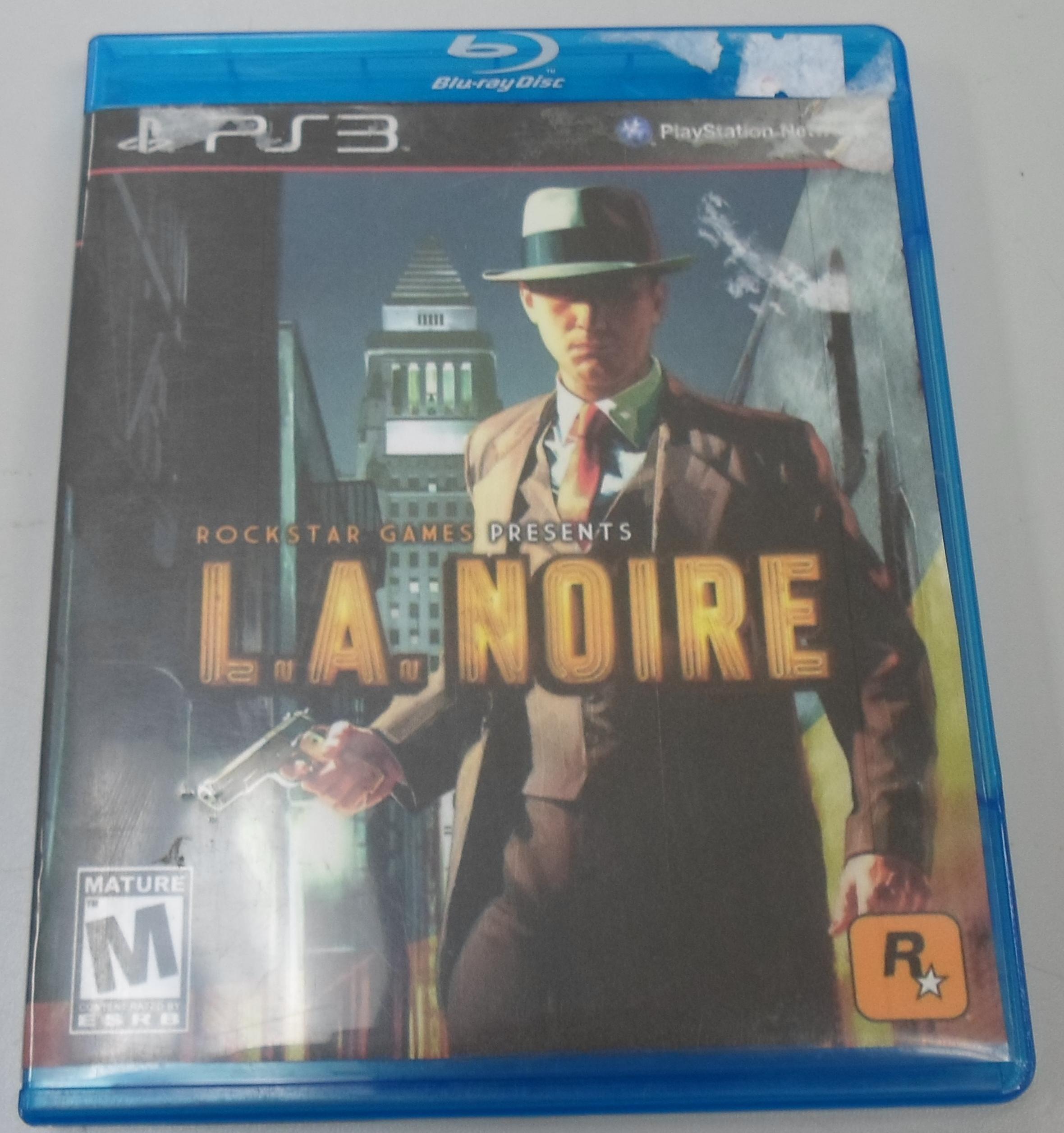 L.A. NOIRE - PLAYSTATION 3 GAME