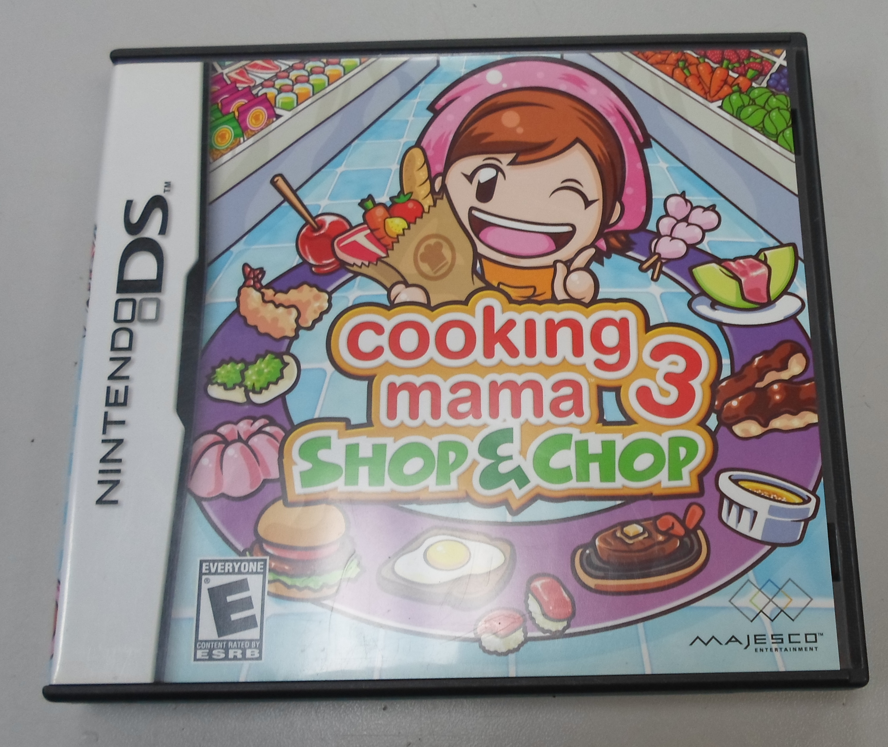 COOKING MAMA 3: SHOP & CHOP  - DS GAME