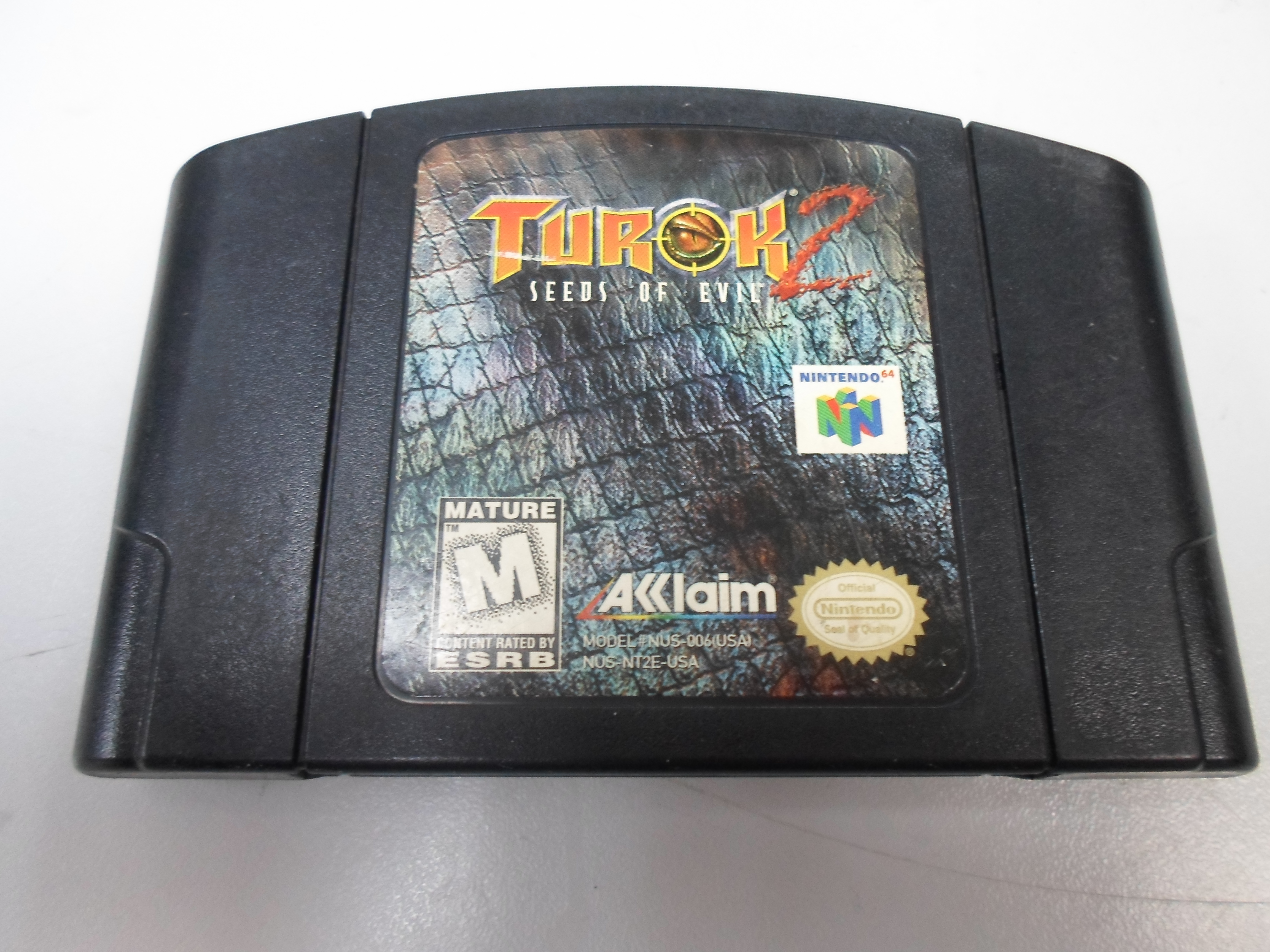 TUROK 2 NOT TESTED AS IS FOR NINTENDO 64