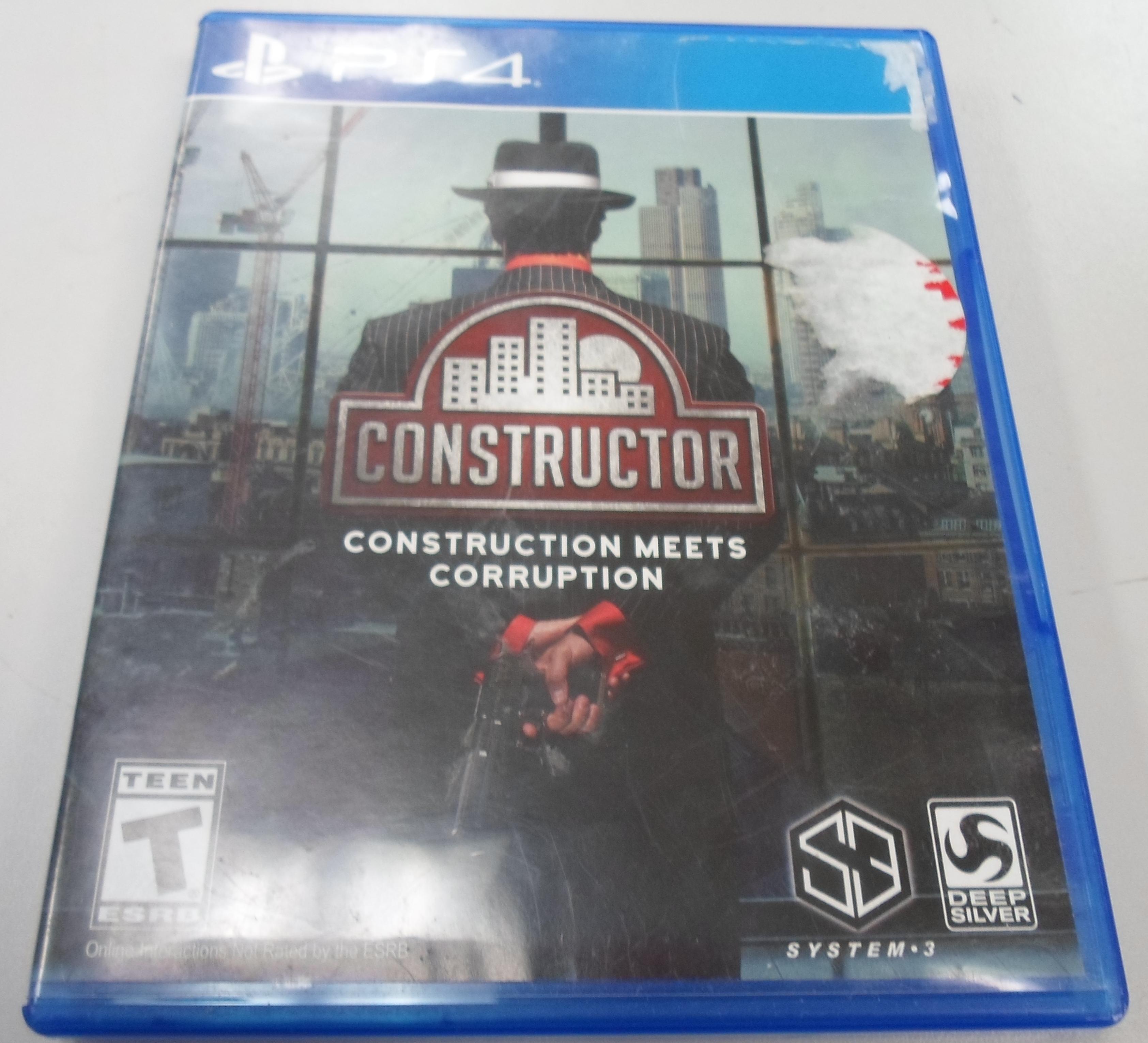 CONSTRUCTOR PLAYSTATION 4