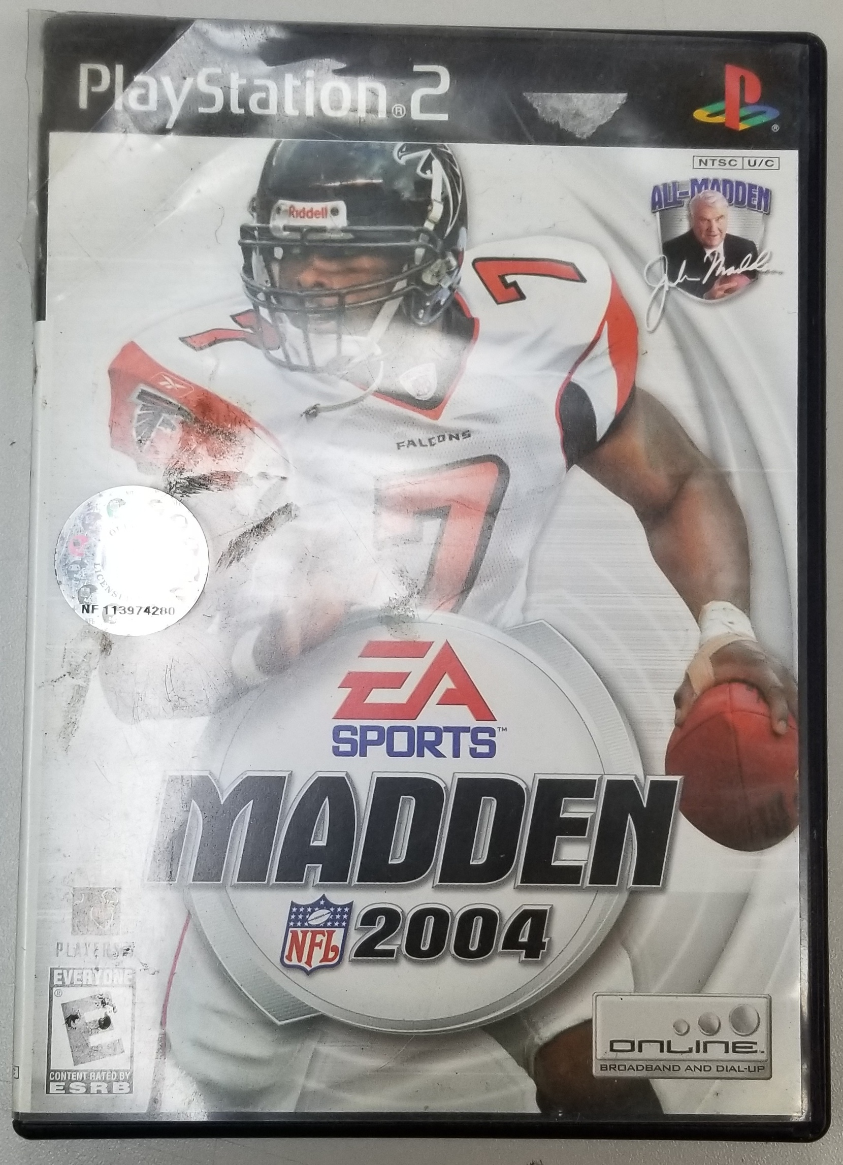 MADDEN 2007=4  - PS2 GAME
