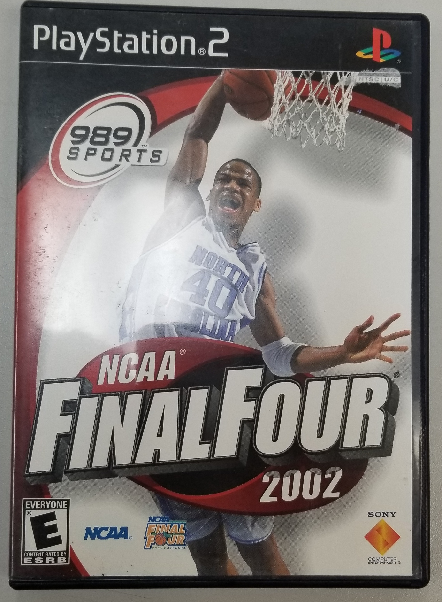NCAA FINAL FOUR - PS2 GAME