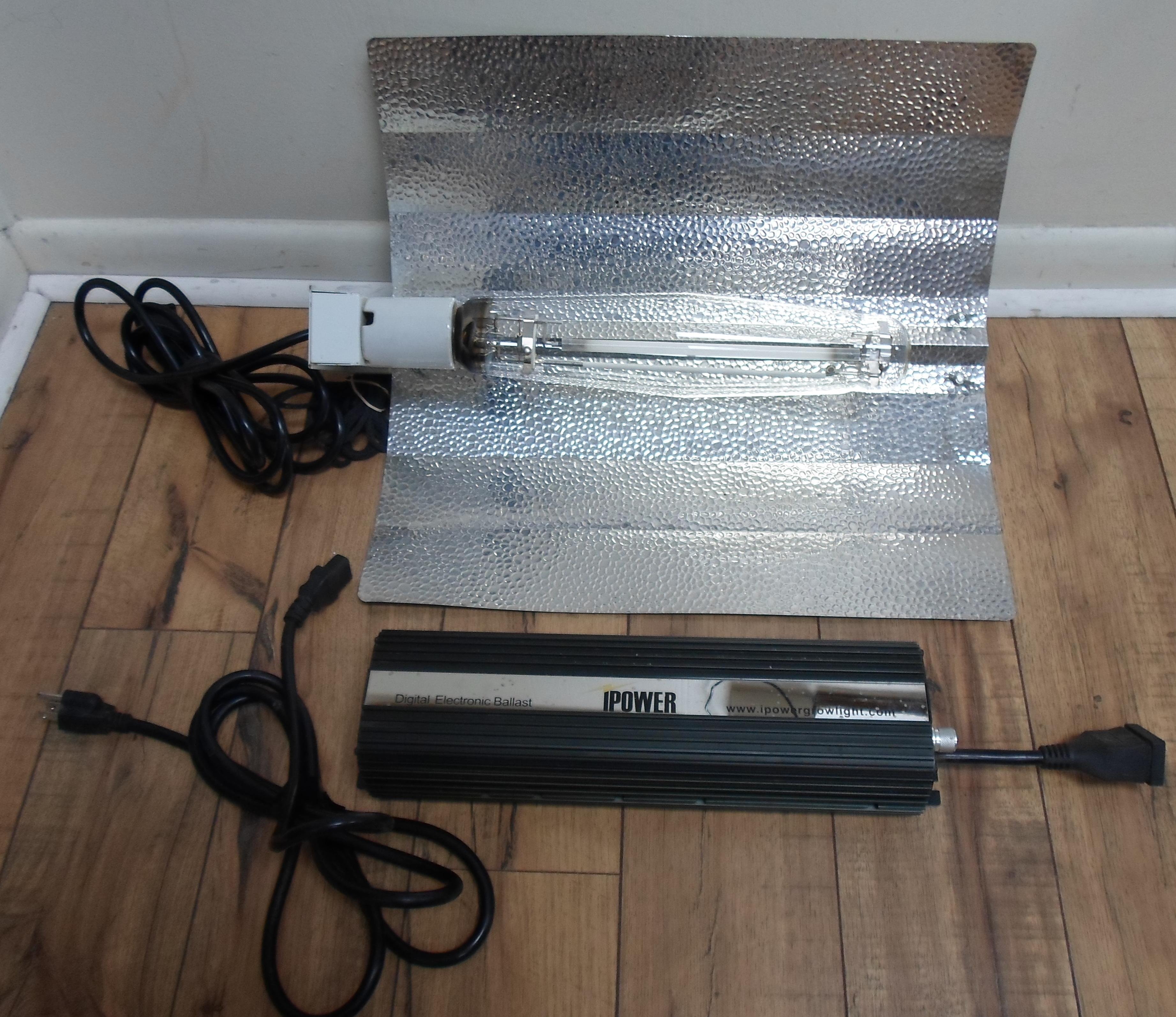 IPOWER 1000 WATT DIGITAL DIMMABLE GROW LIGHT SYSTEM