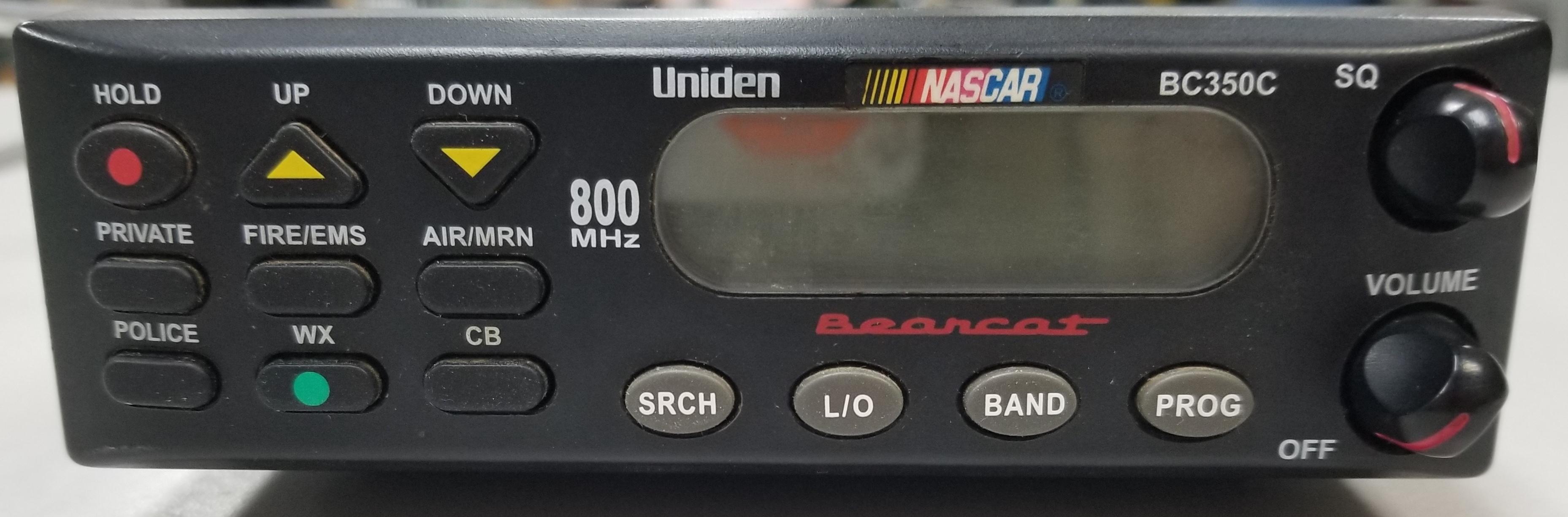 UNIDEN - BC350C - SCANNER