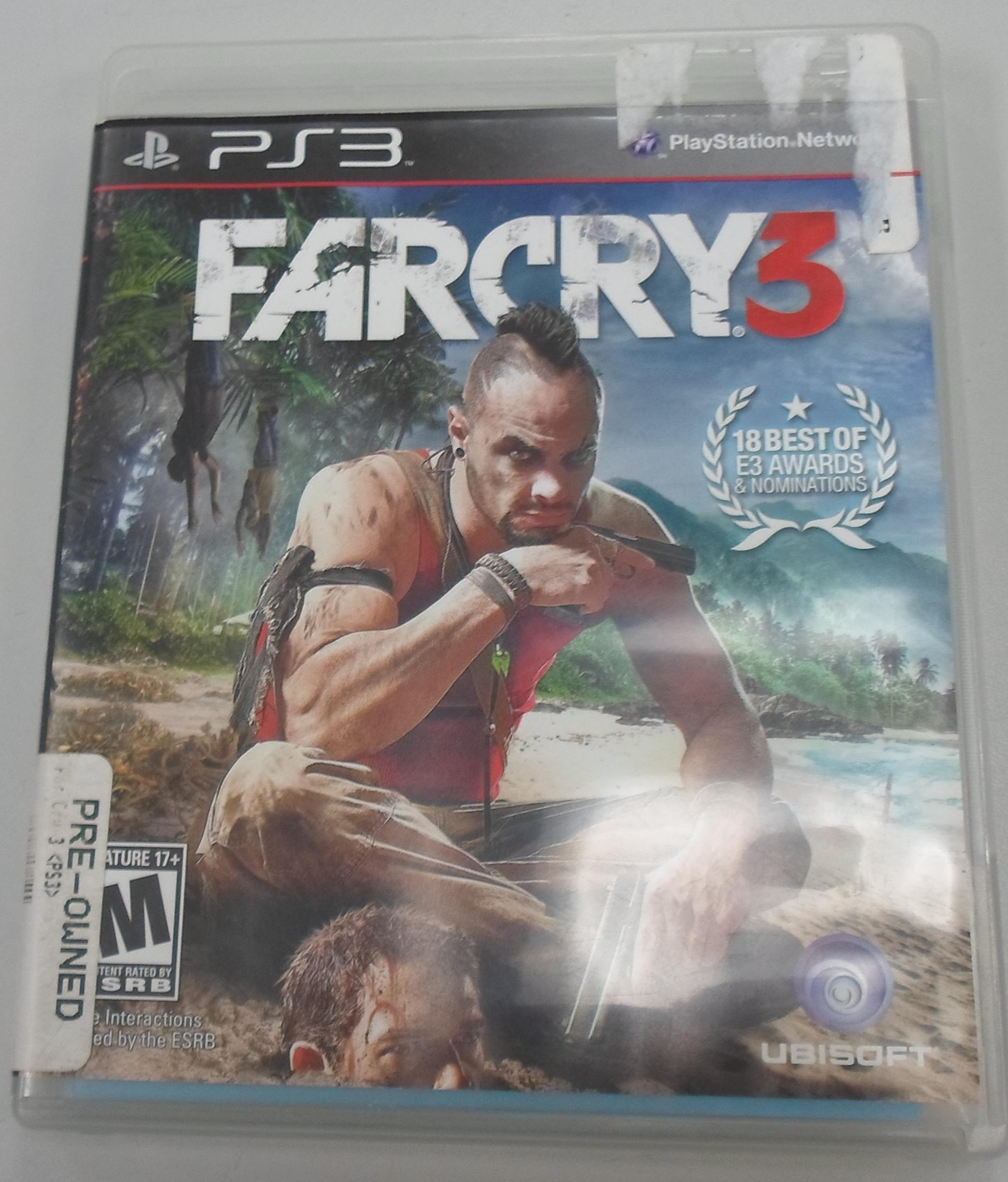 FARCRY 3 PLAYSTATION 3