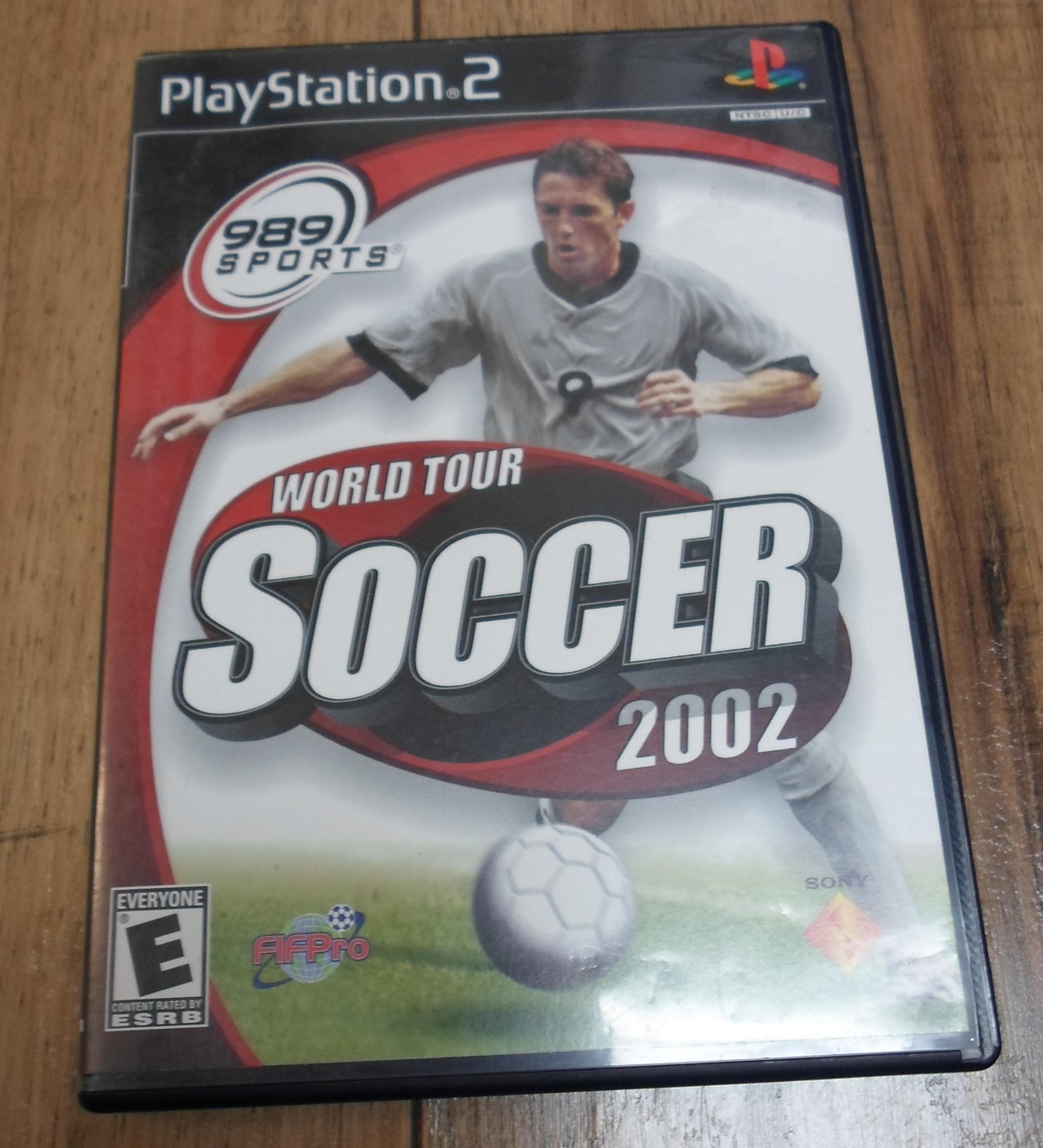 PS2 WORLD TOUR SOCCER 2002