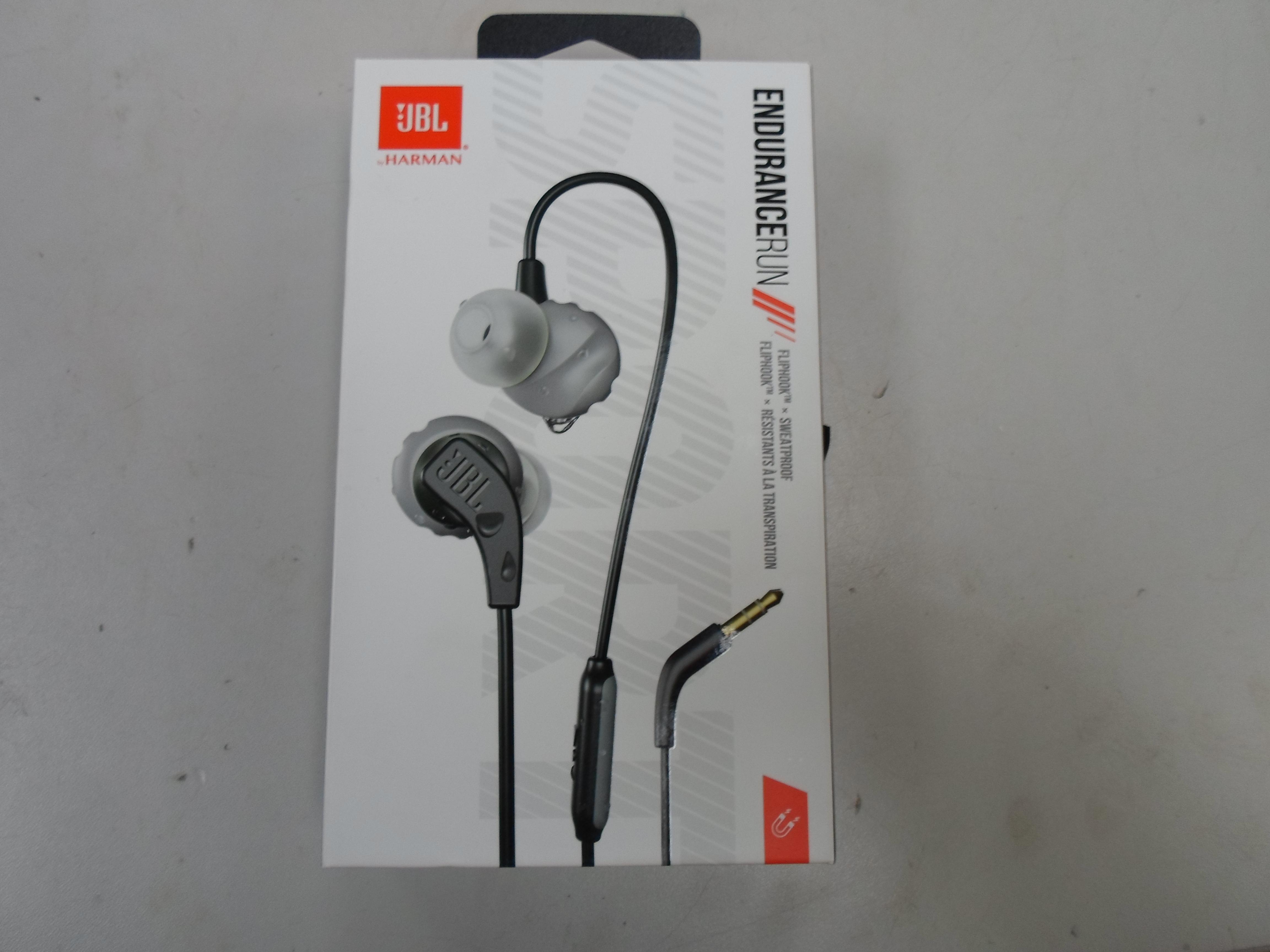 JBL ENDURANCE RUN IN-EAR EARPHONES W/ MIC