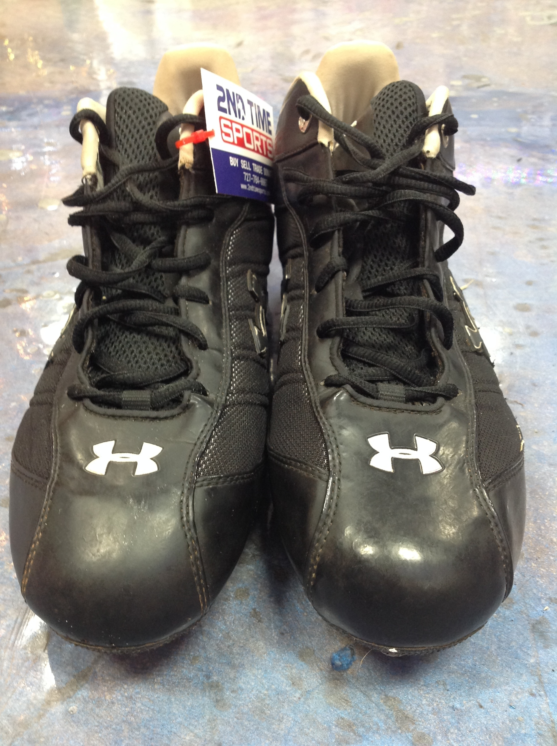 UNDER ARMOUR DP FOOTBALL CLEATS MENS SIZE 13