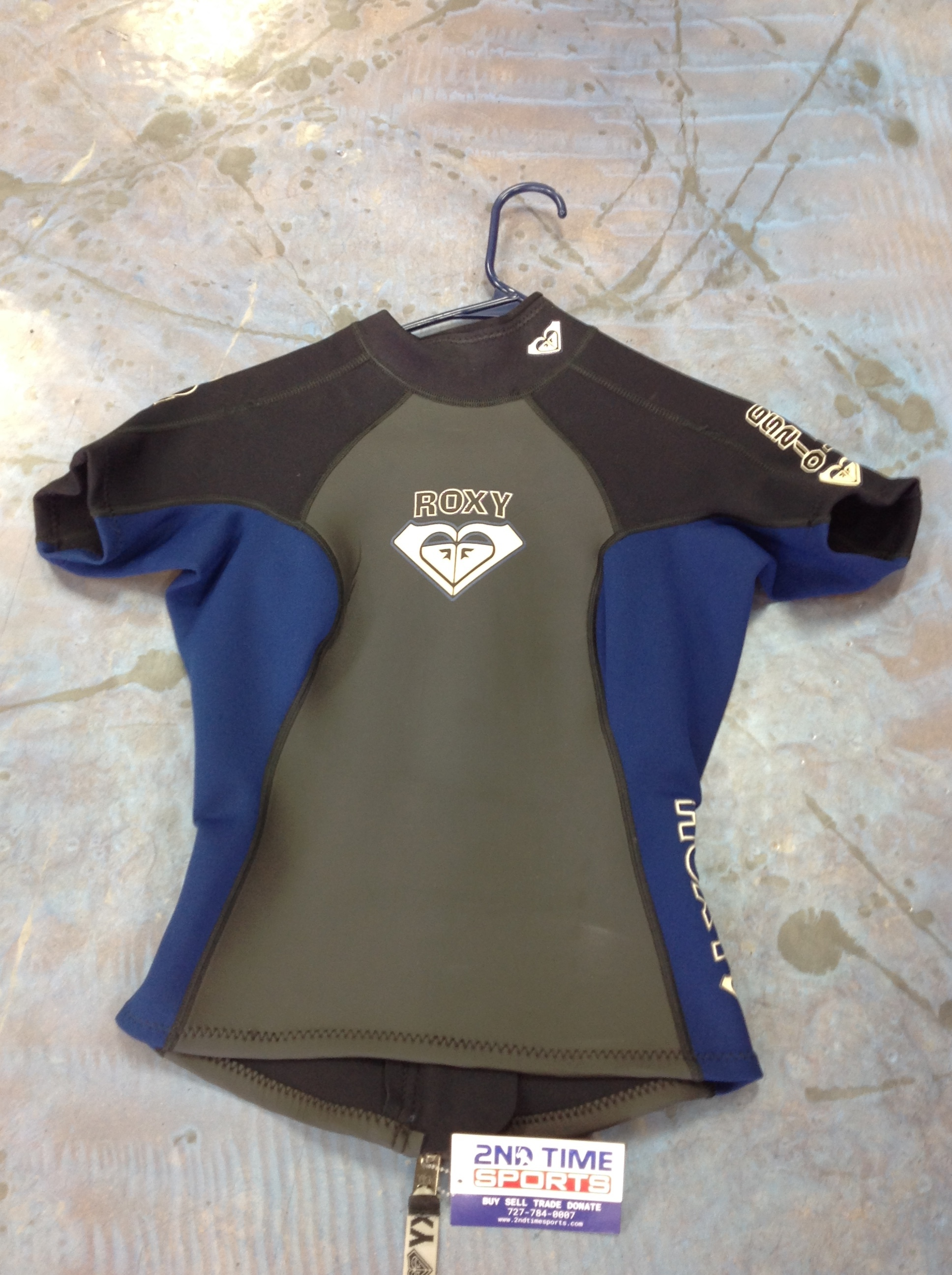 ROXY TOP HALF WETSUIT WATER SPORTS LADIES SMALL