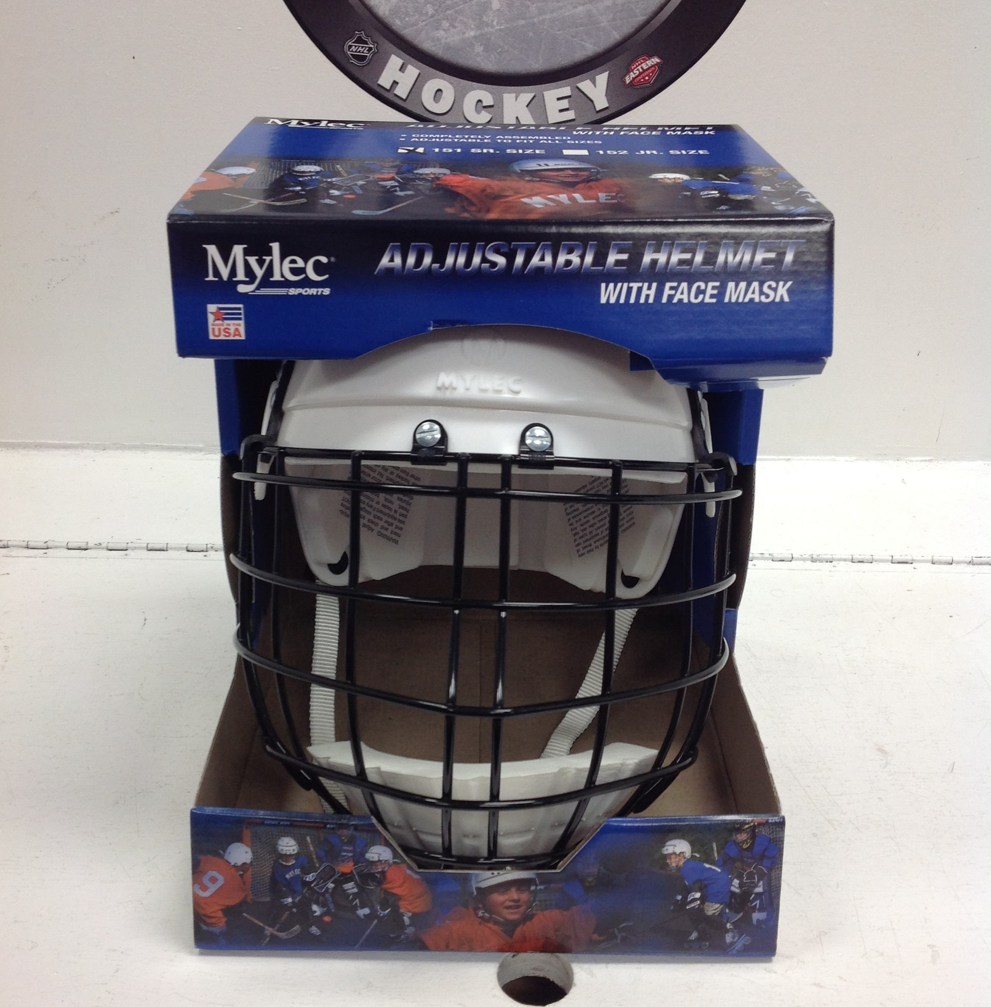 MYLEC 151 SR LARGE STREET HOCKEY HELMET NEW