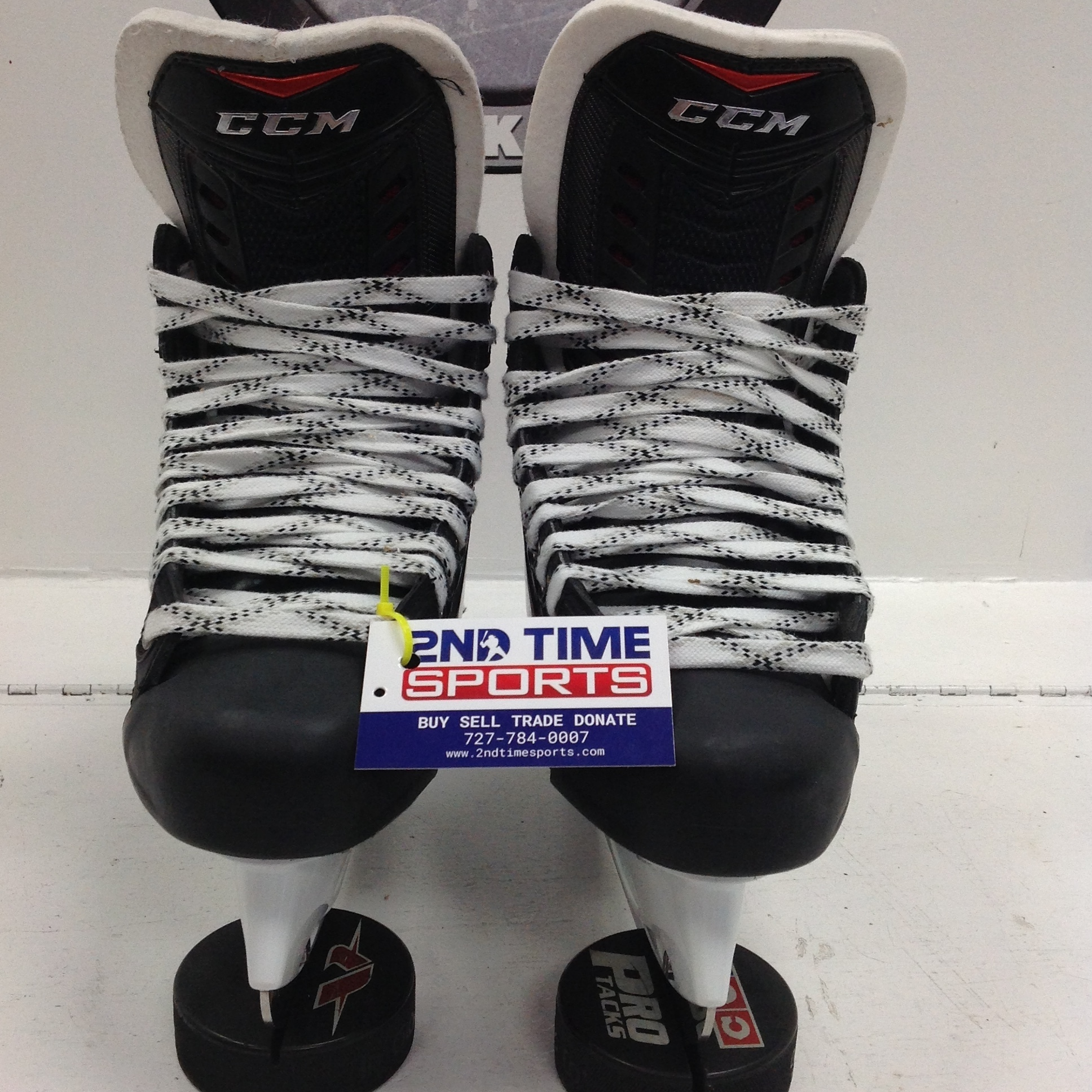 CCM RBZ SR HOCKEY SKATES SIZE 6 NEW