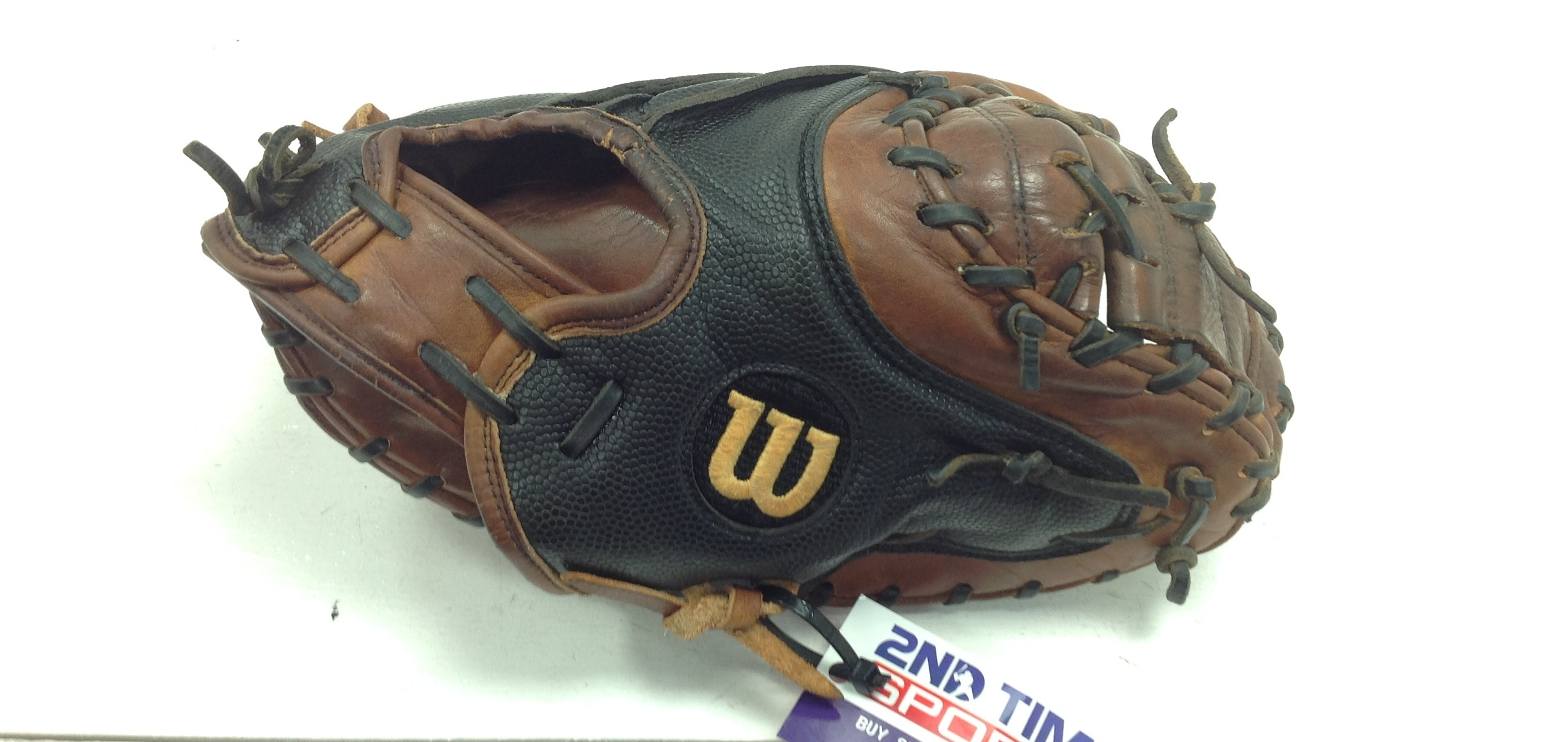 WILSON A2000 A243031790-SS PRO STOCK RIGHT HANDED THROWER CATCHERS MIT 34