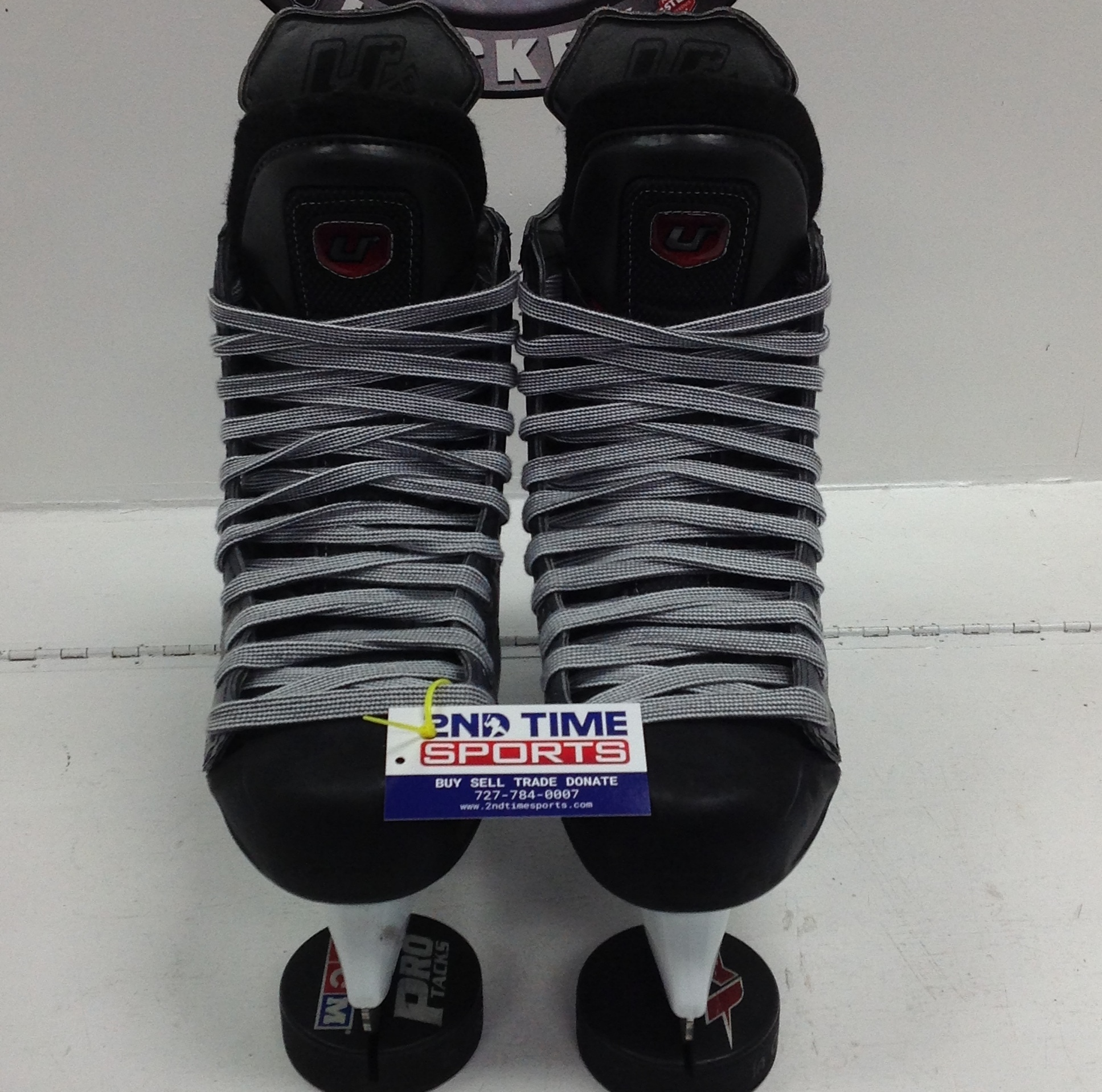 CCM U+ CRAZY LITE SR HOCKEY SKATES SIZE 11.5 NEW