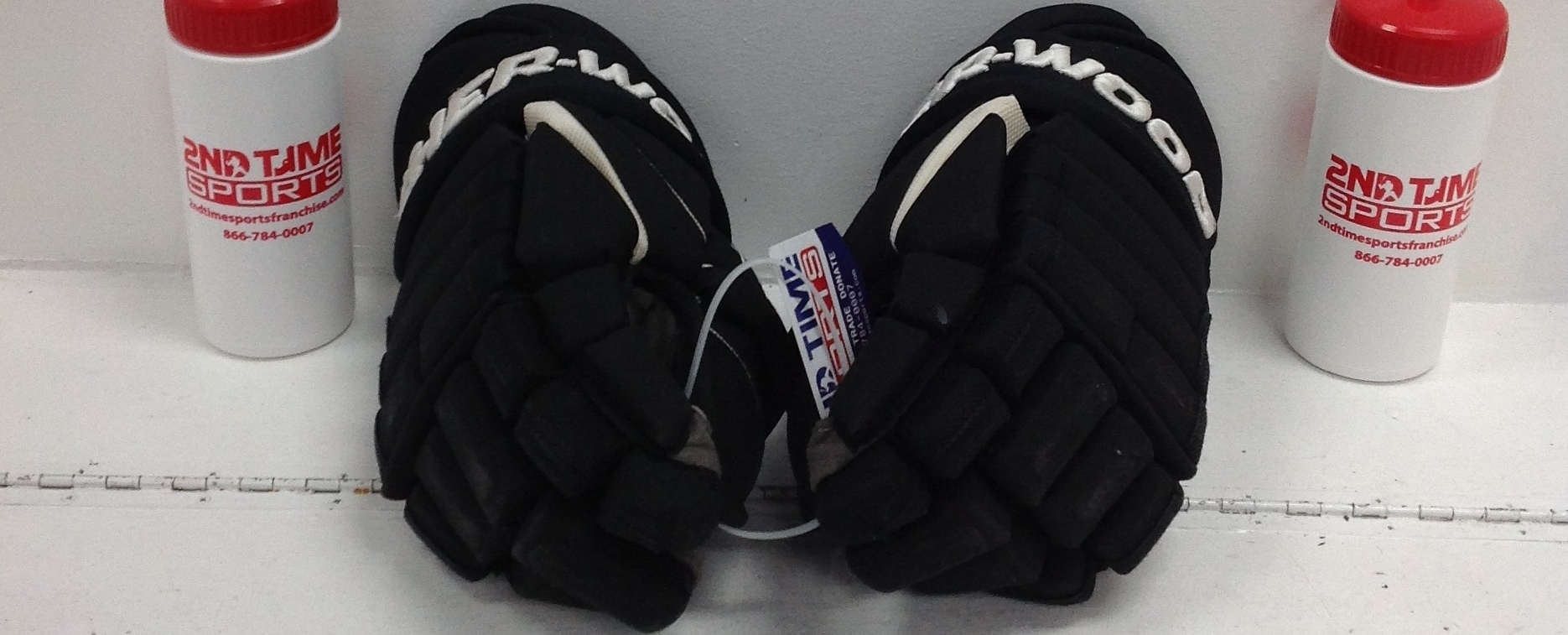 SHERWOOD T120 SR HOCKEY GLOVES HOCKEY 14