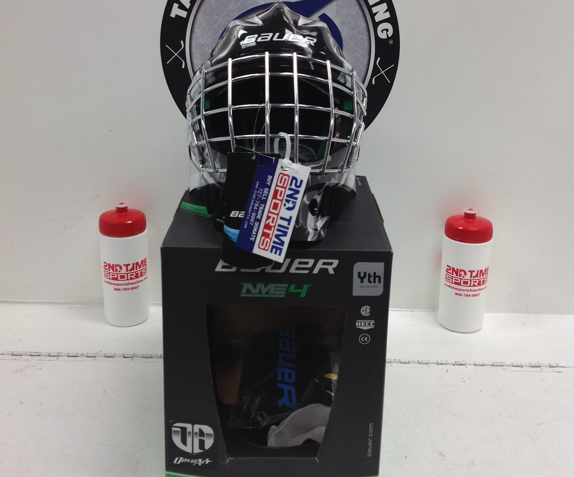 BAUER NME 4 YTH GOALIE MASK NEW