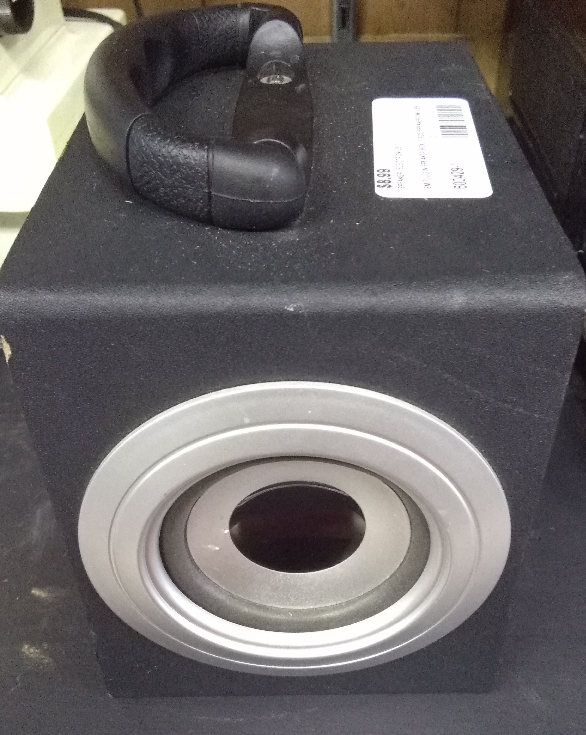 Small Plug-in Speaker Box