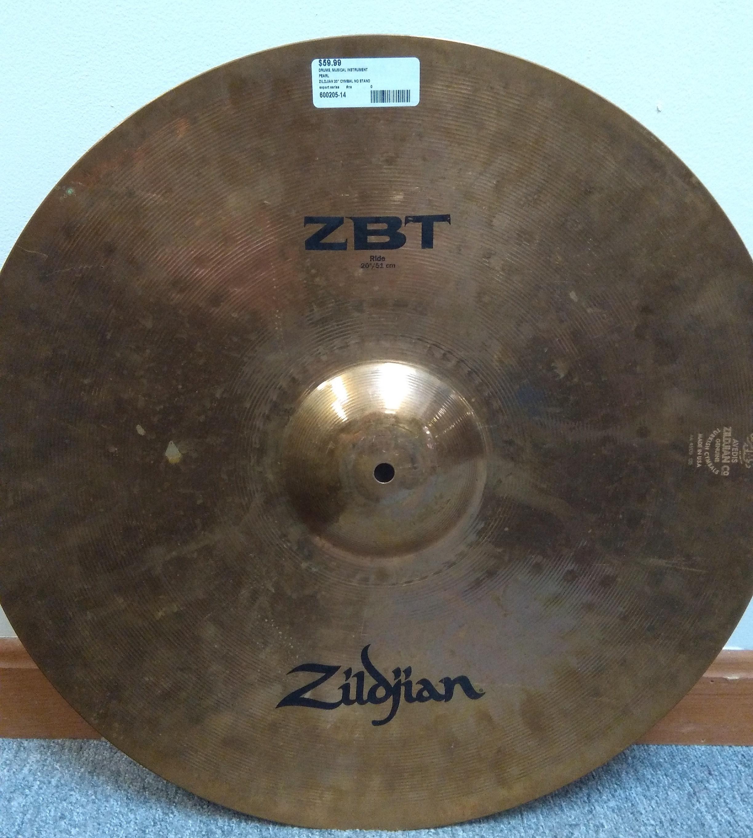 Zildjian Cymbal 20
