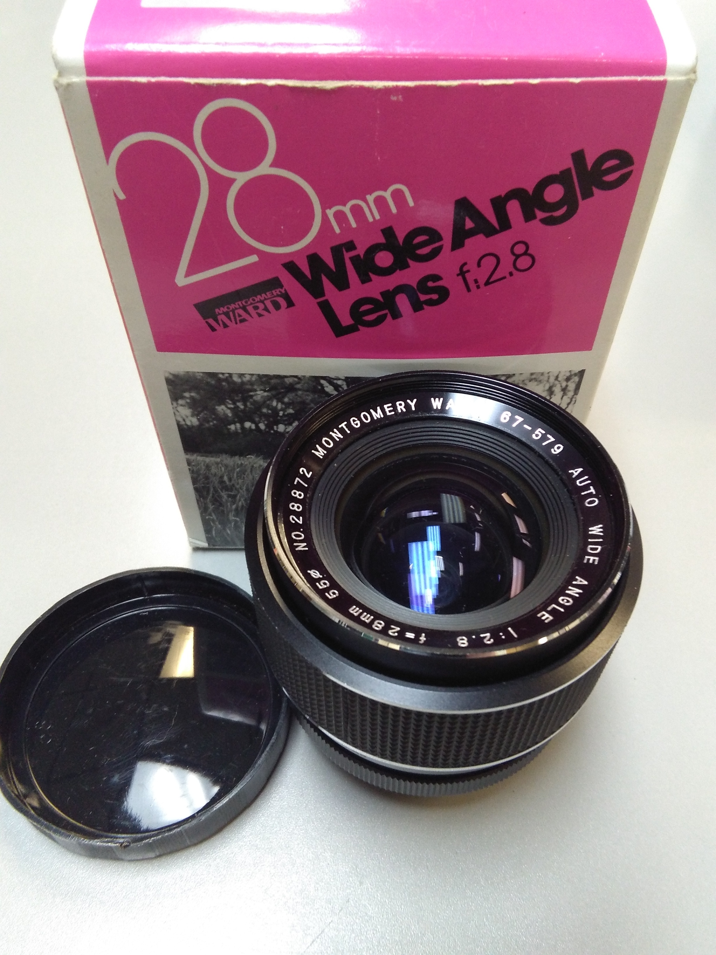 MONTGOMERY WARD 28 MM WIDE ANGLE LENS
