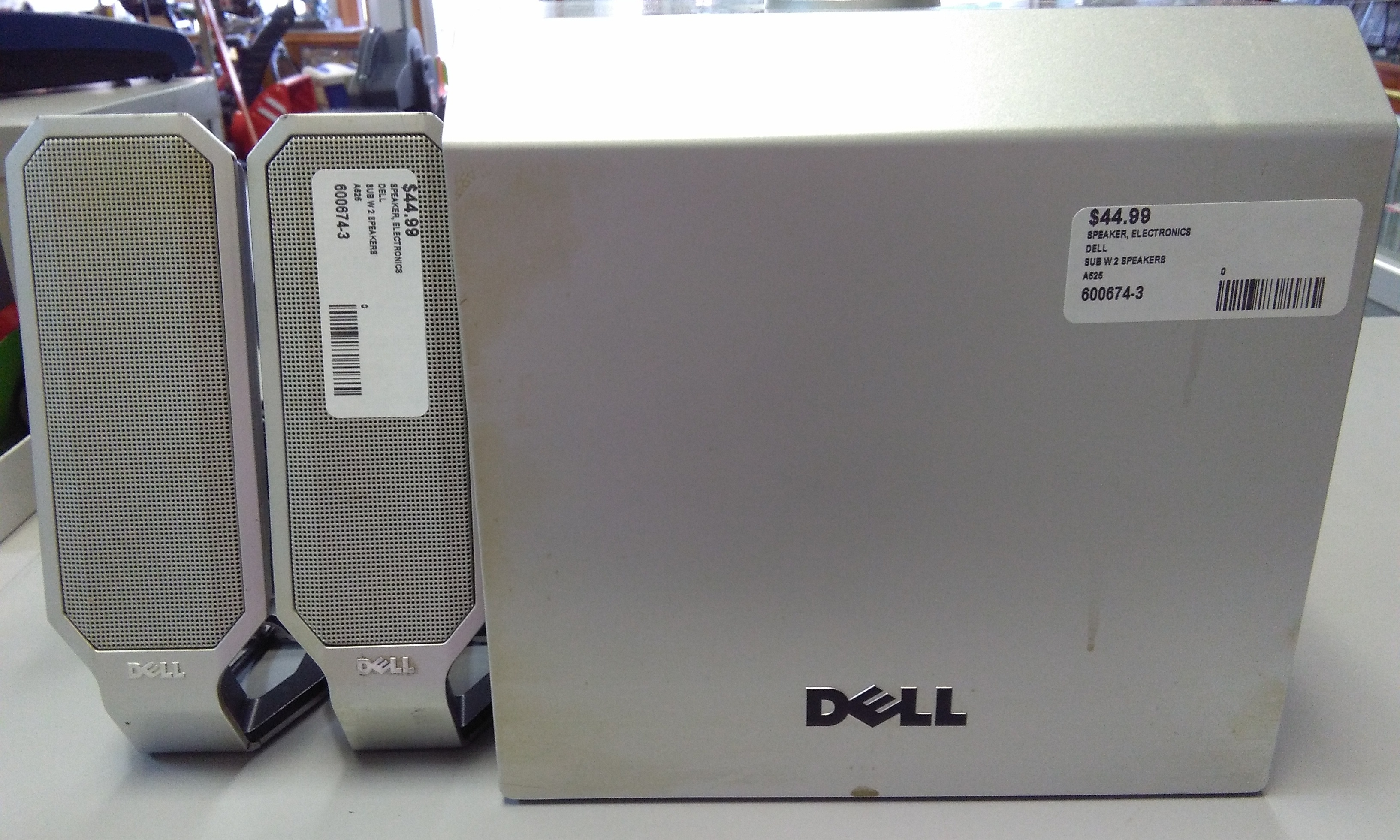 DELL SUBWOOFER WITH SPEAKERS