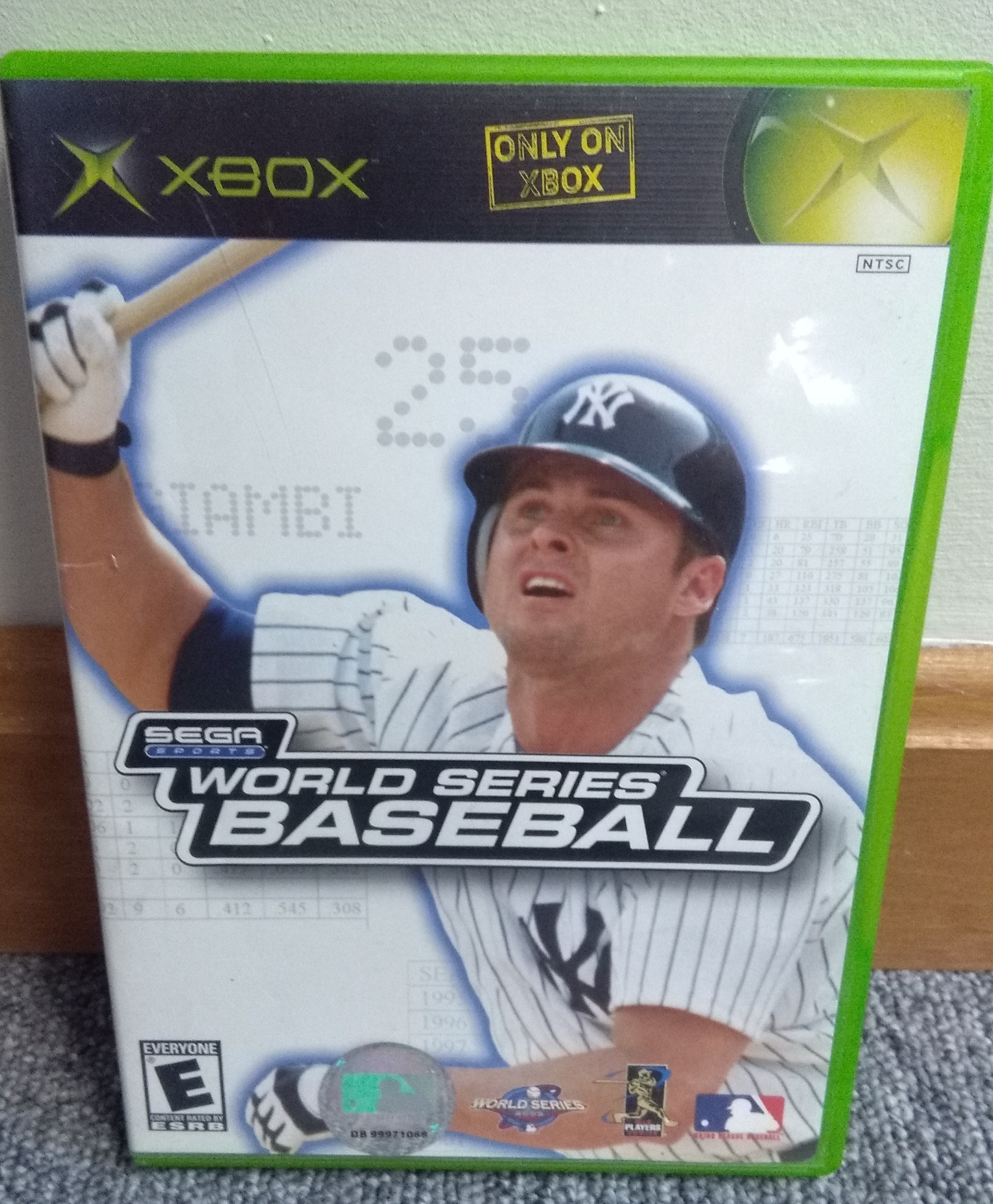 SEGA SERIES WORLD SERIES BASEBALL XBOX GAME