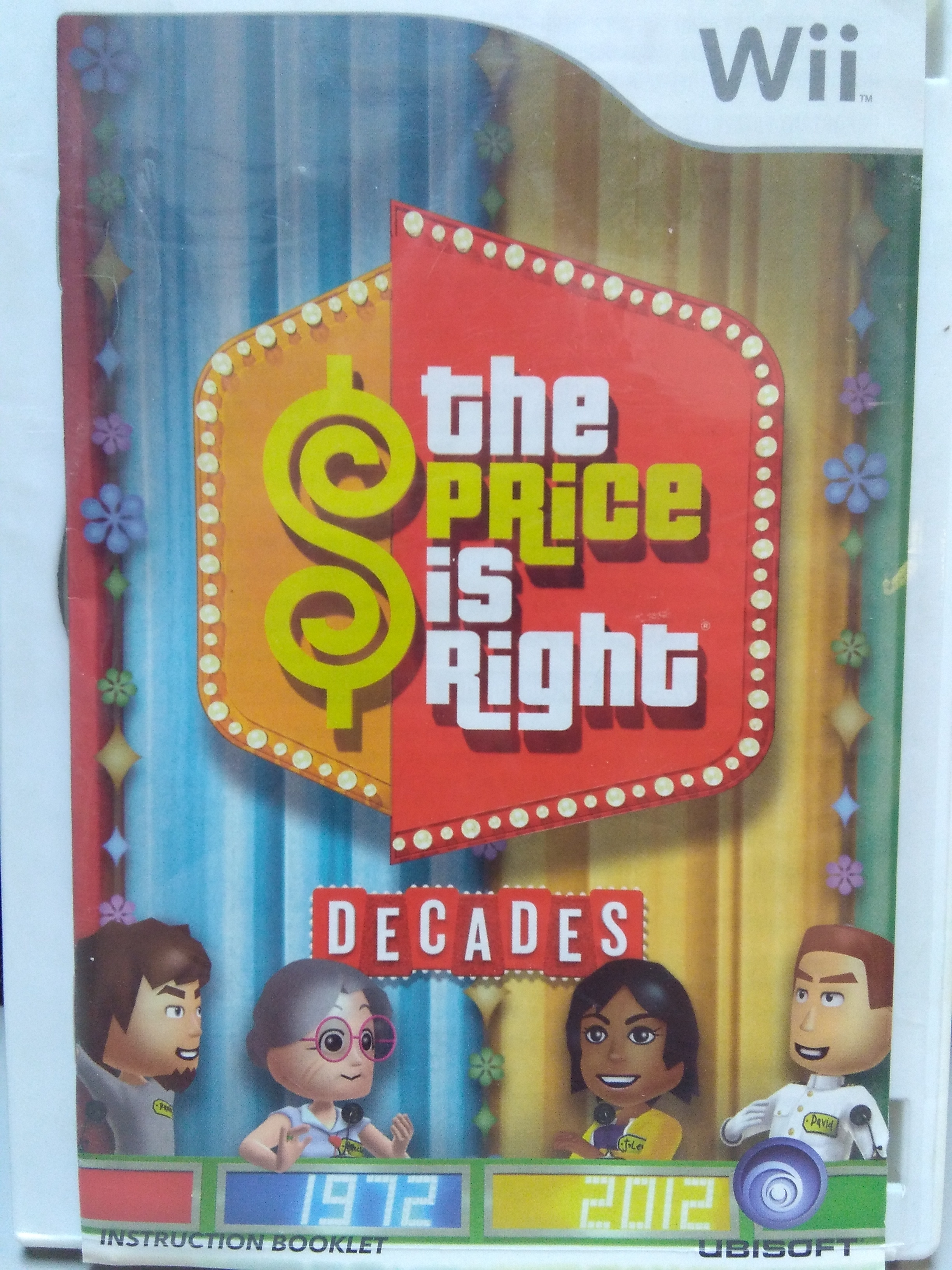 The Price is Right Decades WII GAME