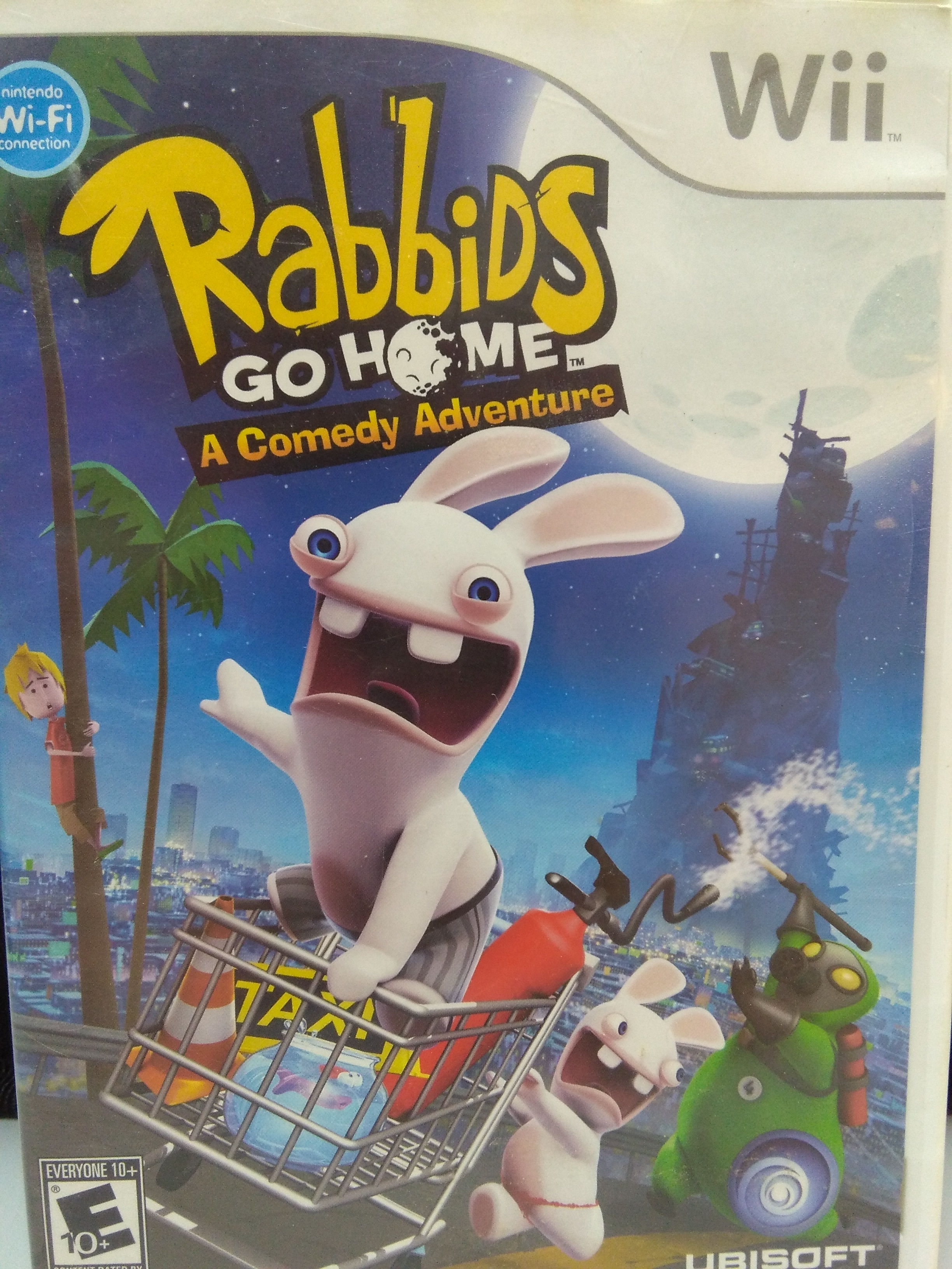 Rabbids Go Home WII GAME