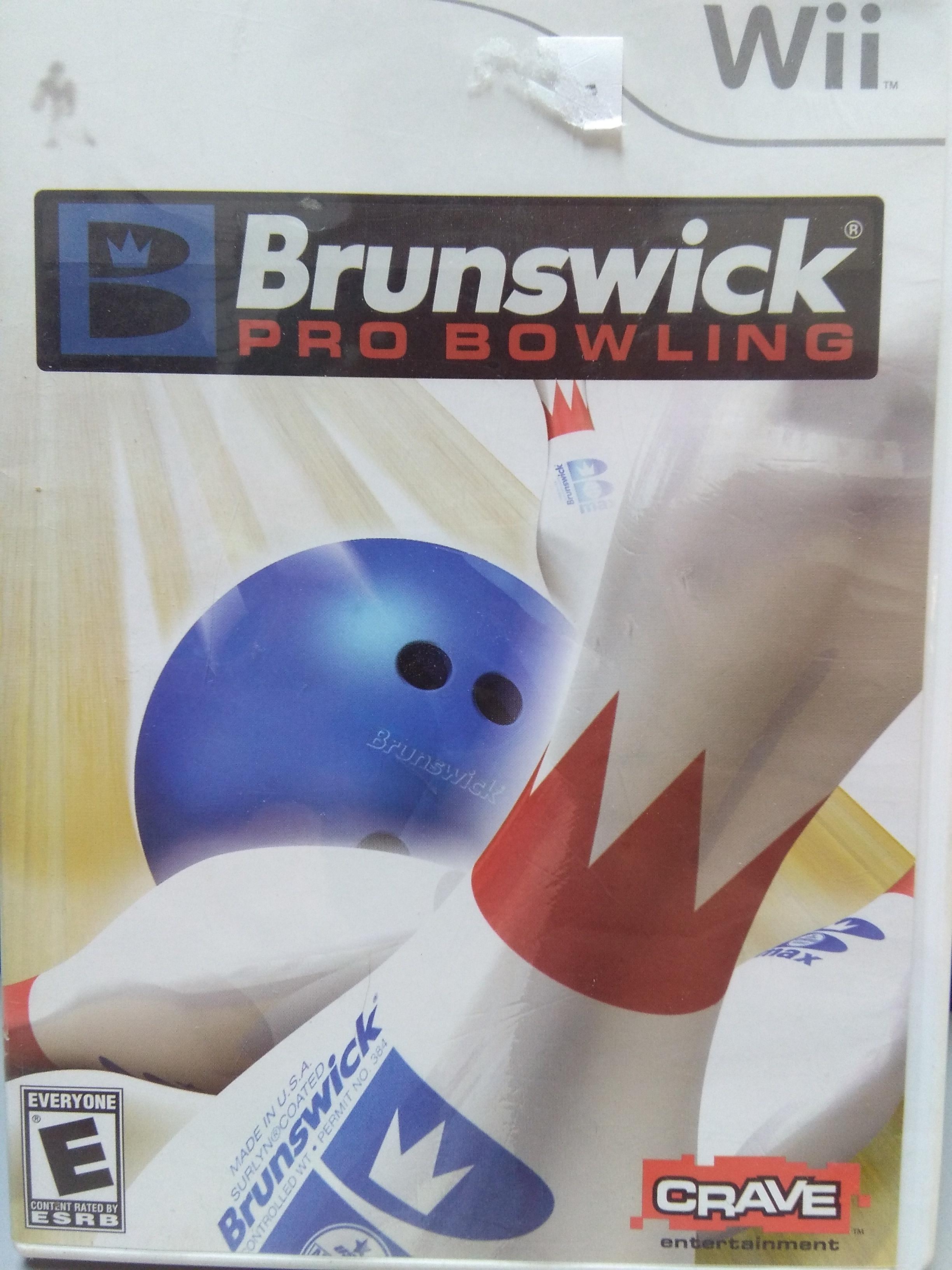 Brunswick Pro Bowling WII GAME