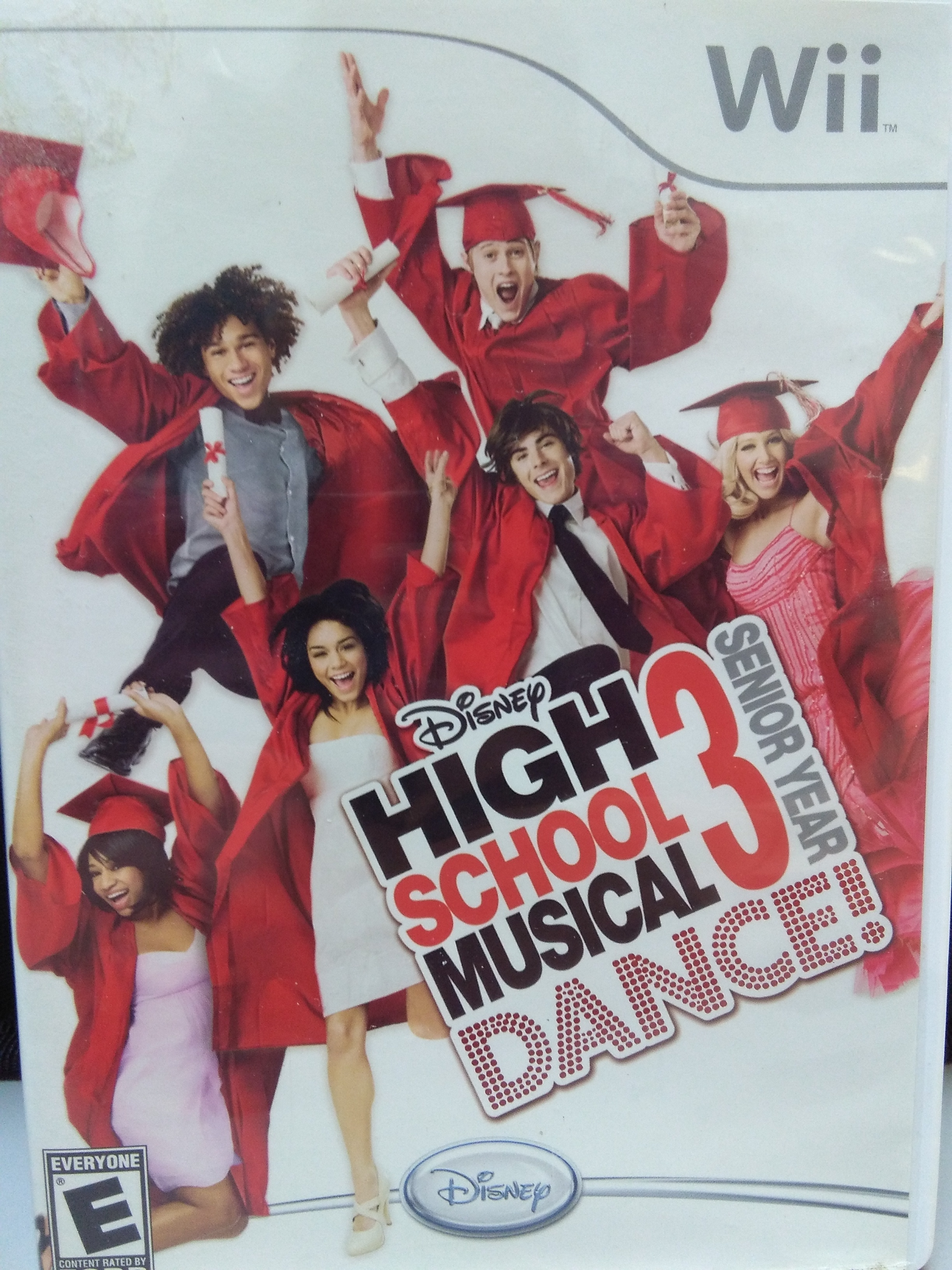 High School Musical 3 Dance! WII GAME