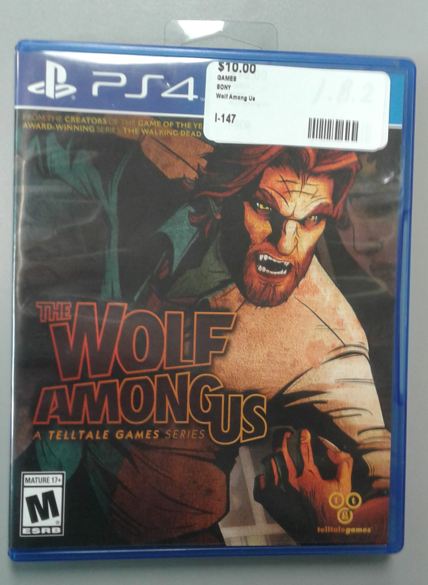 The wolf among us for Ps4