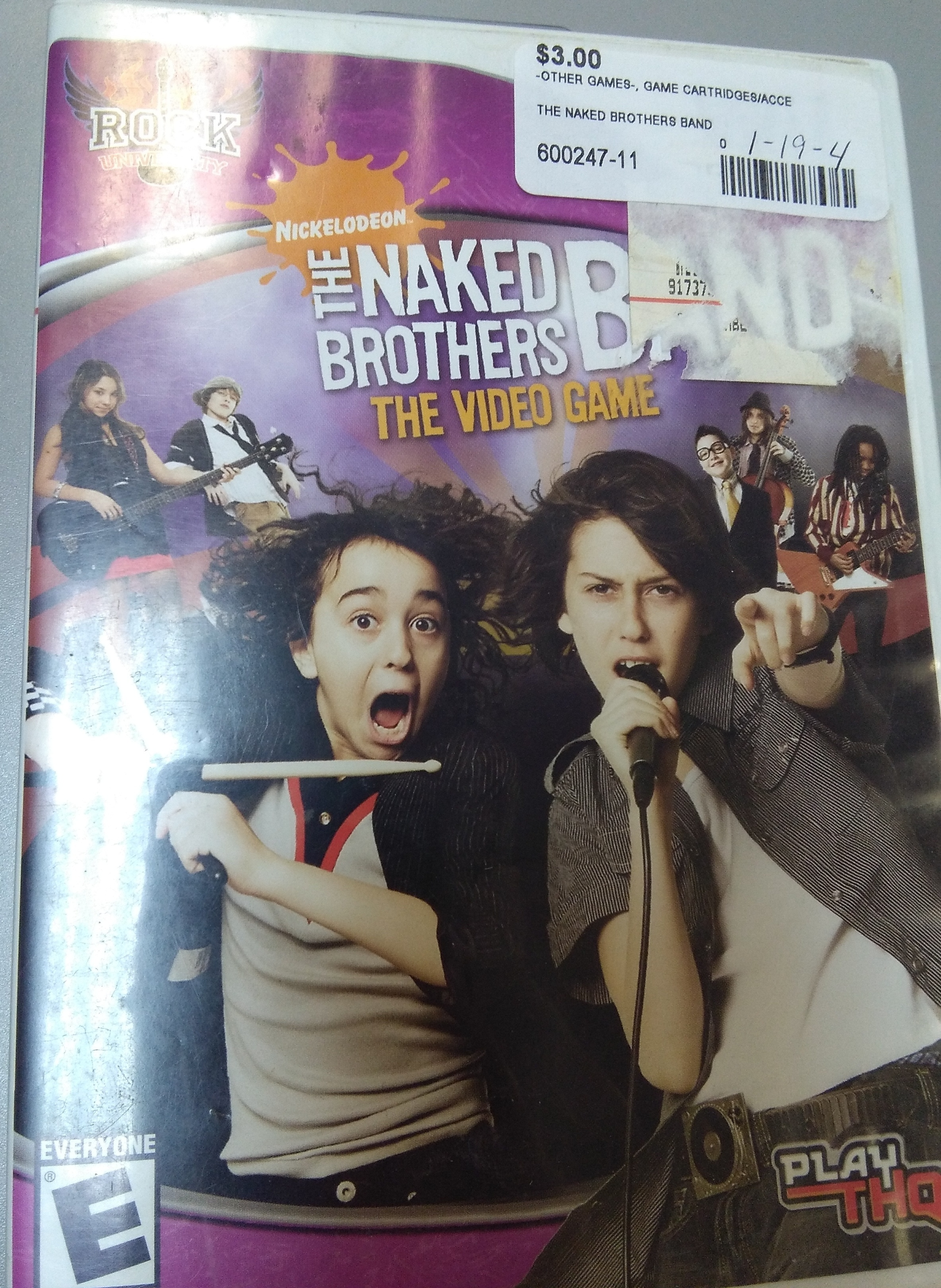 The Naked Brothers Band Wii Game