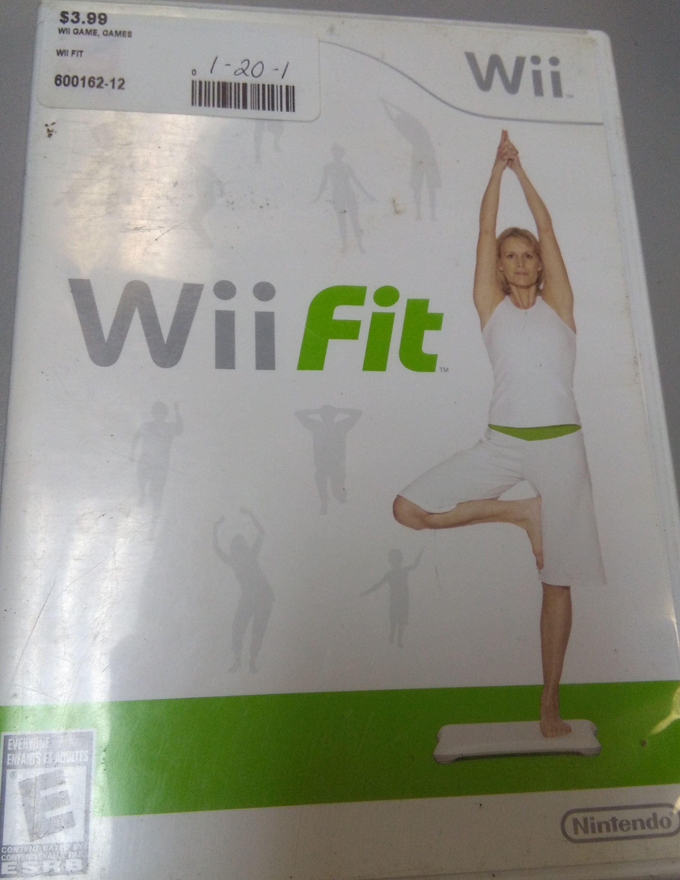 WII FIT WII GAME