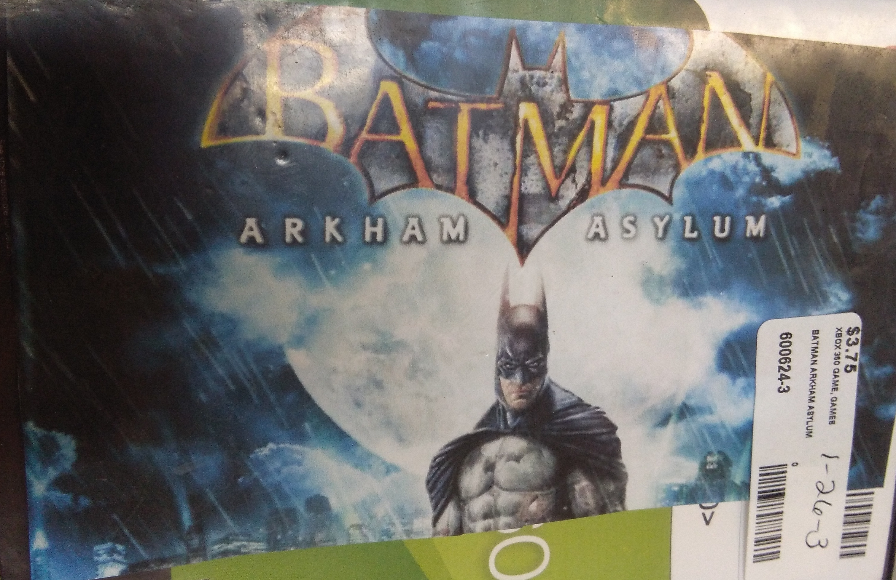 Batman Arkham Asylum Xbox 360 Game