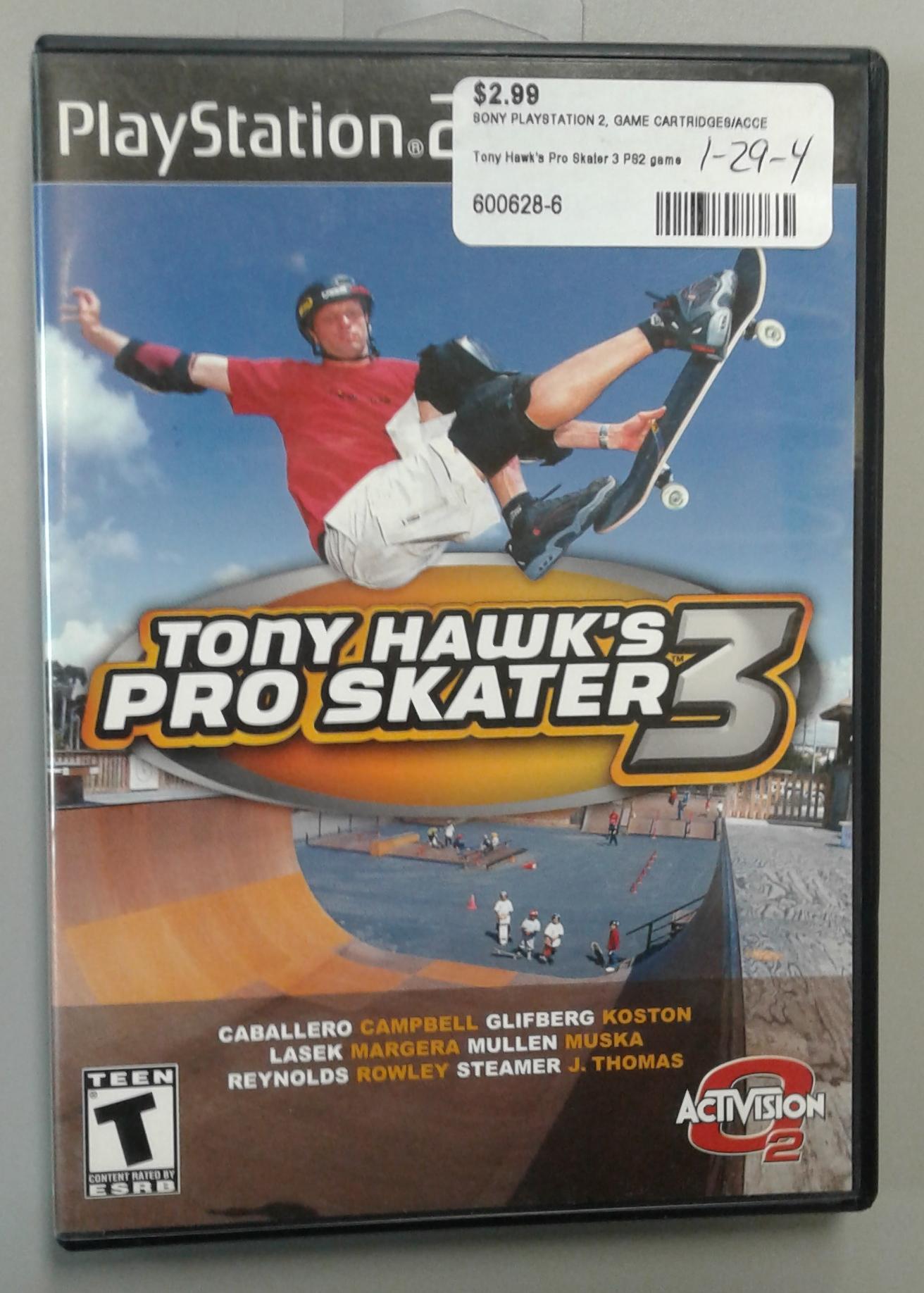 Tony Hawk's Pro Staker 3