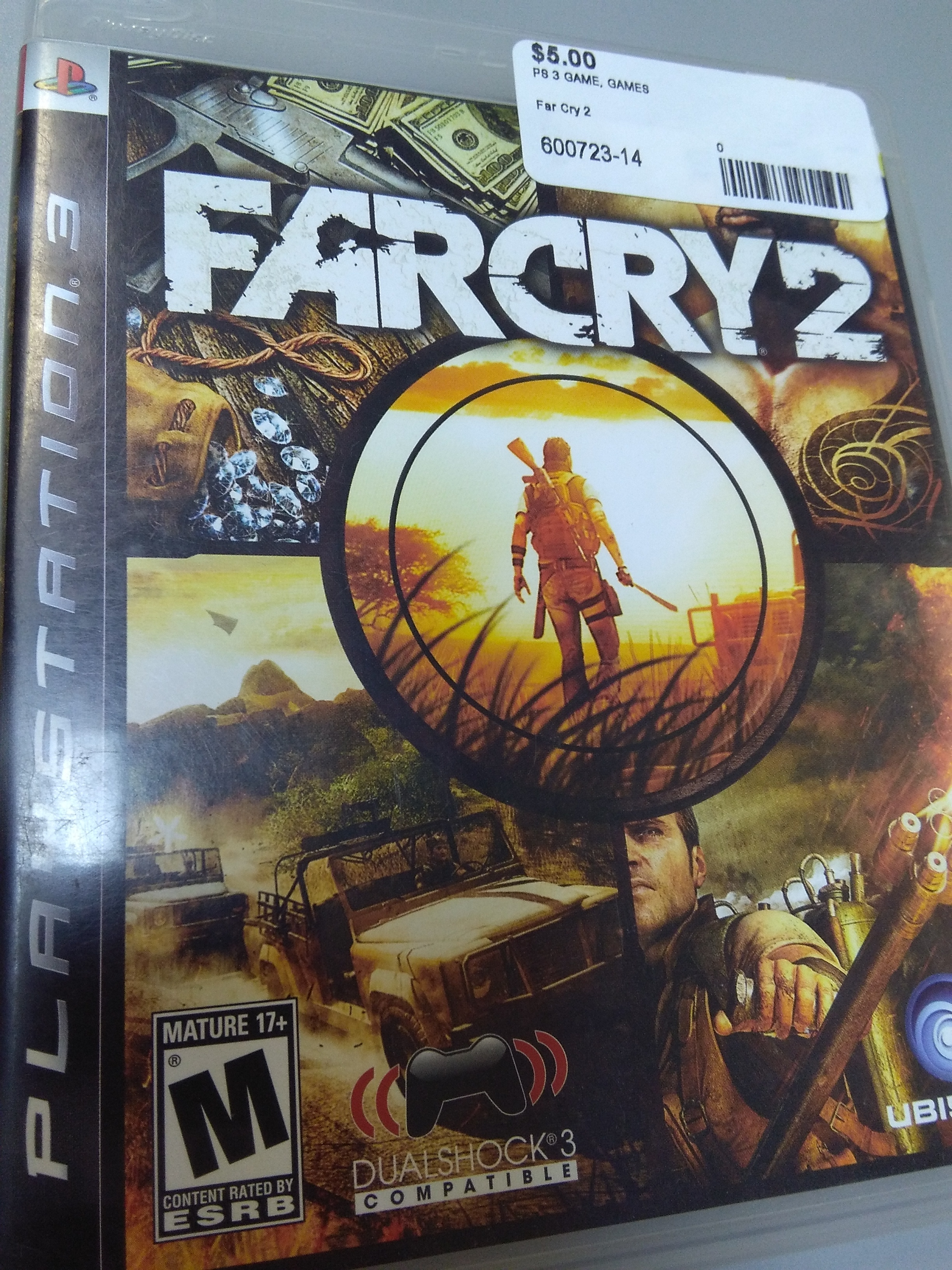Far cry 2 game for PS3