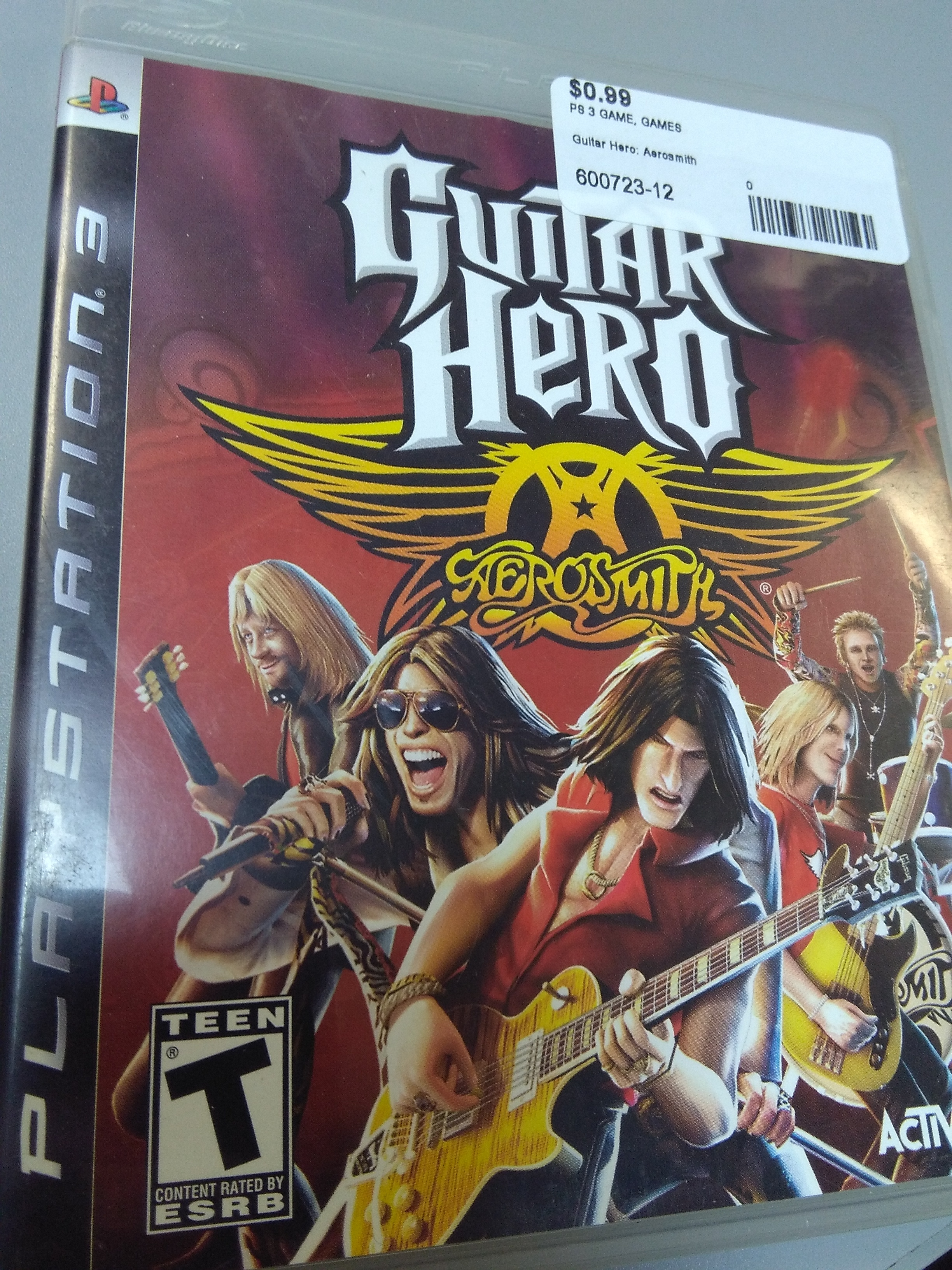 Guitar Hero: Aerosmith for PS3