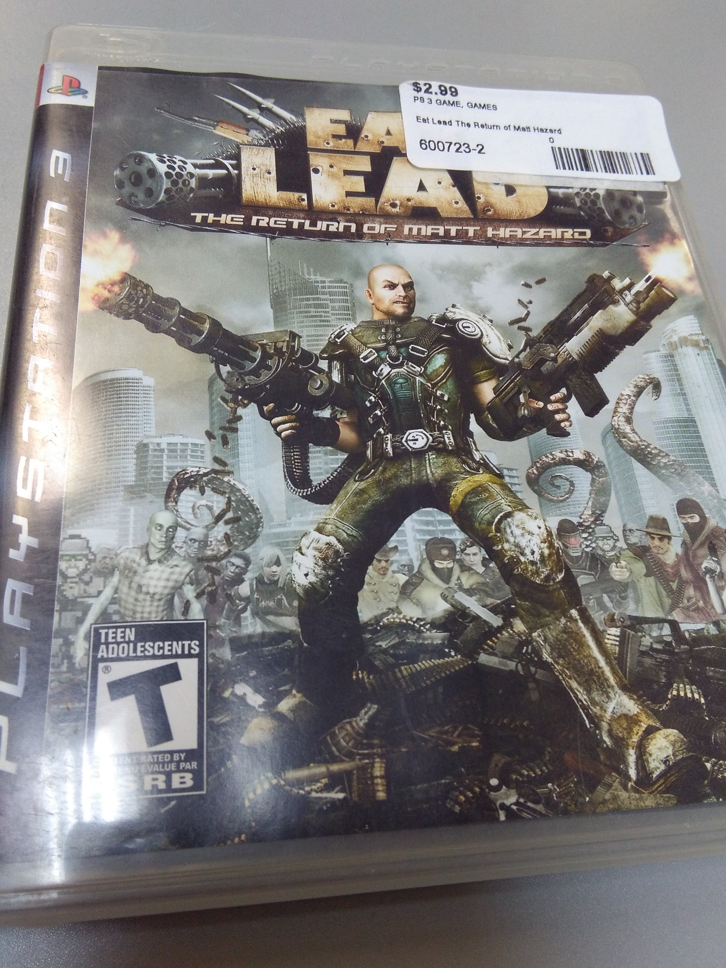 Eat Lead the return of Matt hazard for ps3