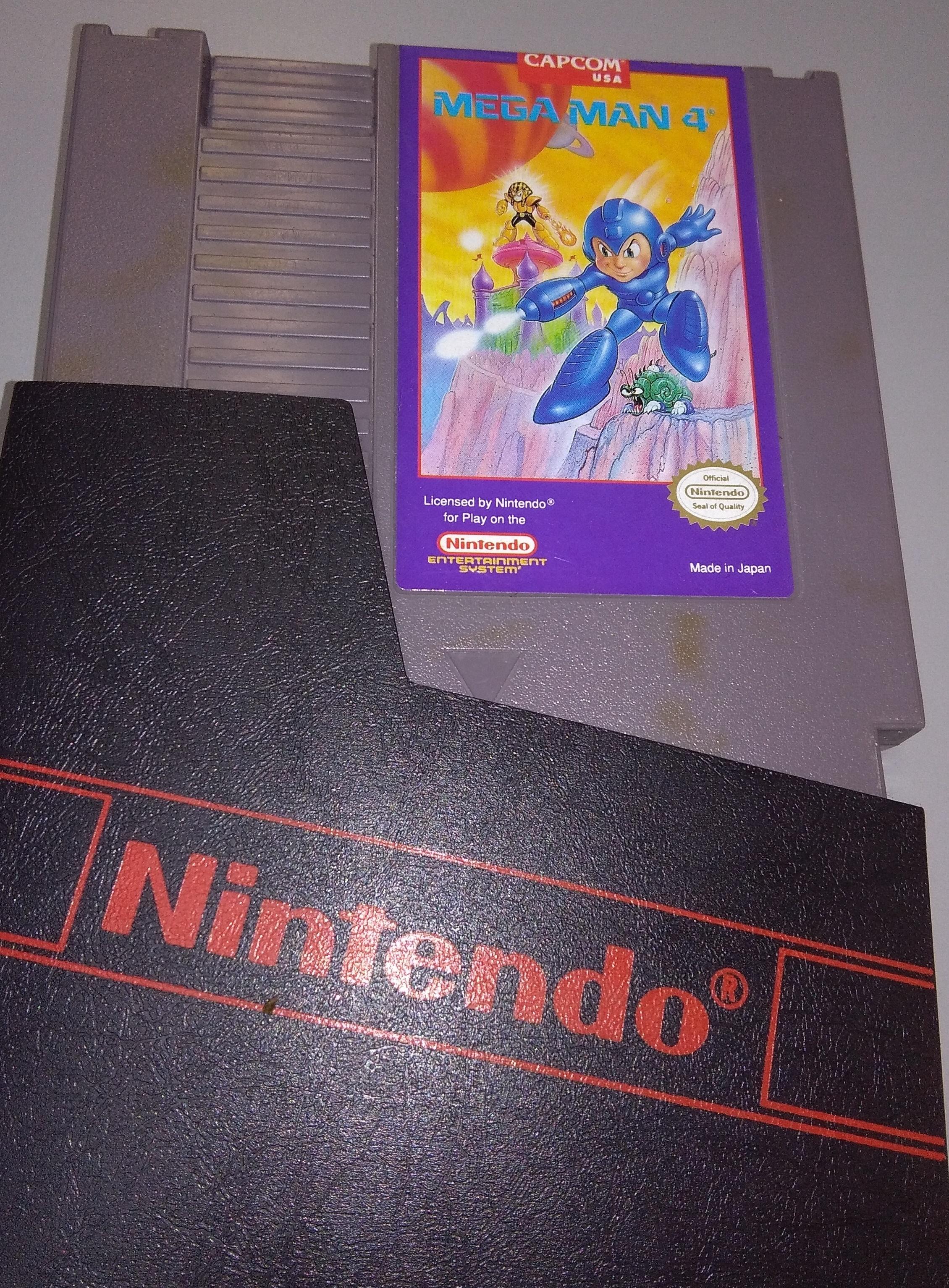 Mega Man 4 Nintendo Game