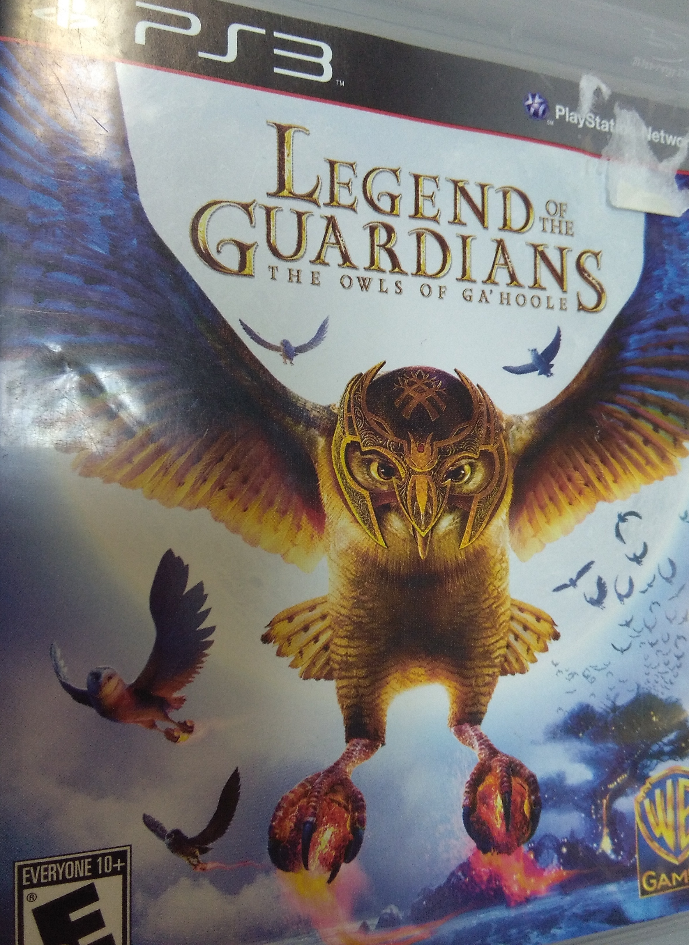Legend of the Guardians: The Owls of Ga'hoole PS 3 GAME