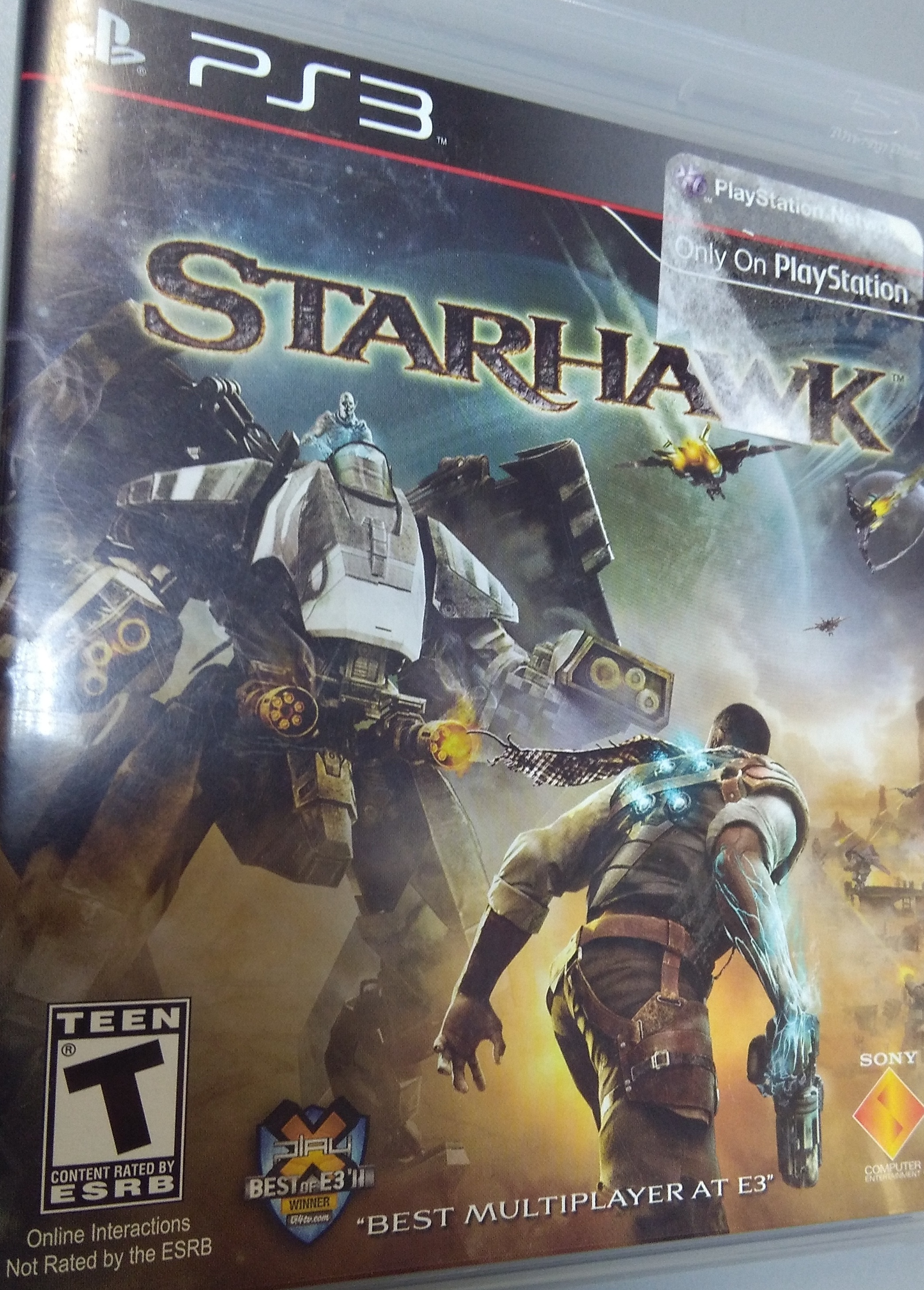 Starhawk PlayStation 3 GAME