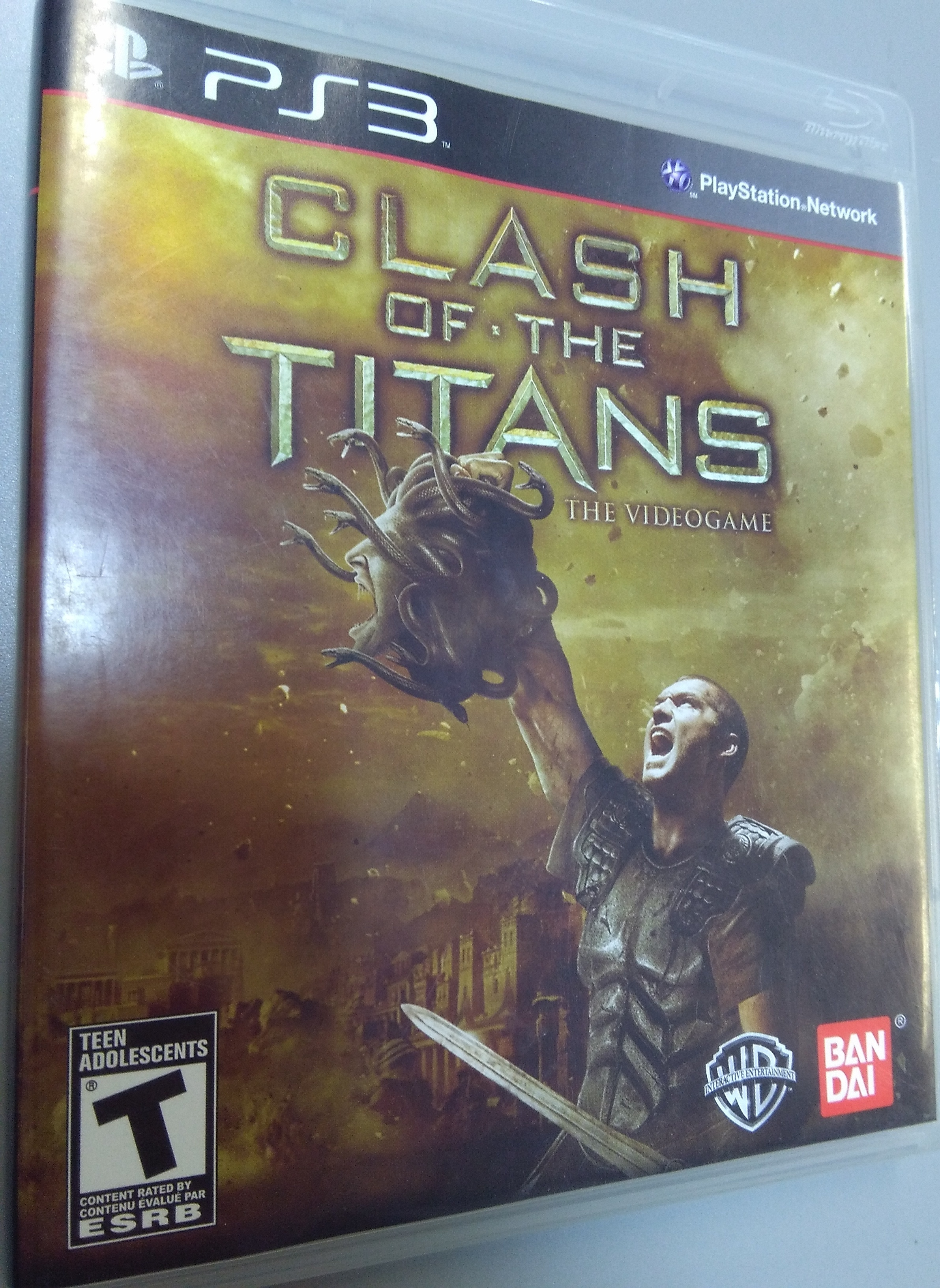 Clash of the Titans PlayStation 3 GAME