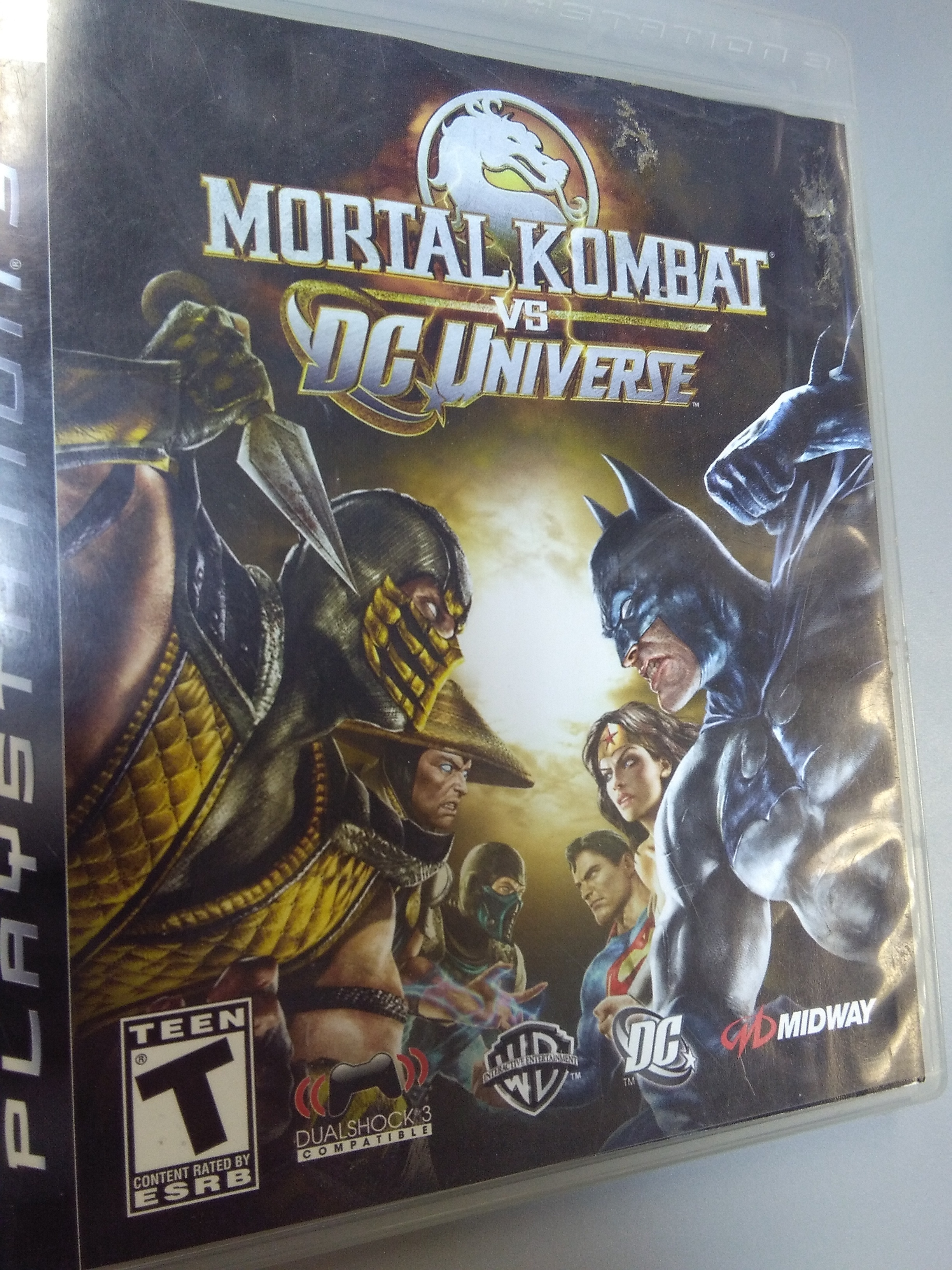 Mortal Kombat vs DC Universe PS 3 GAME