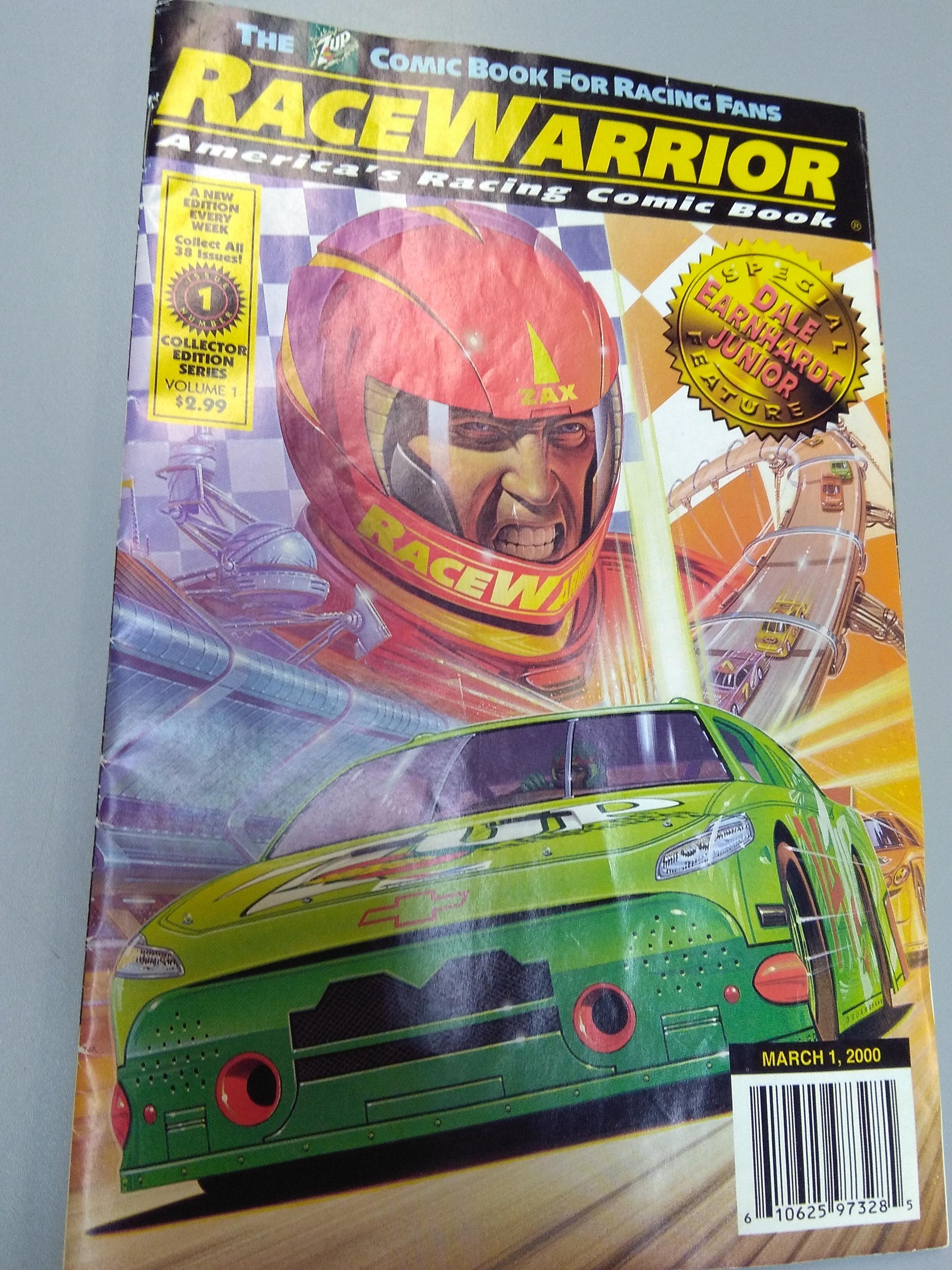 Race Warrior Comic Book