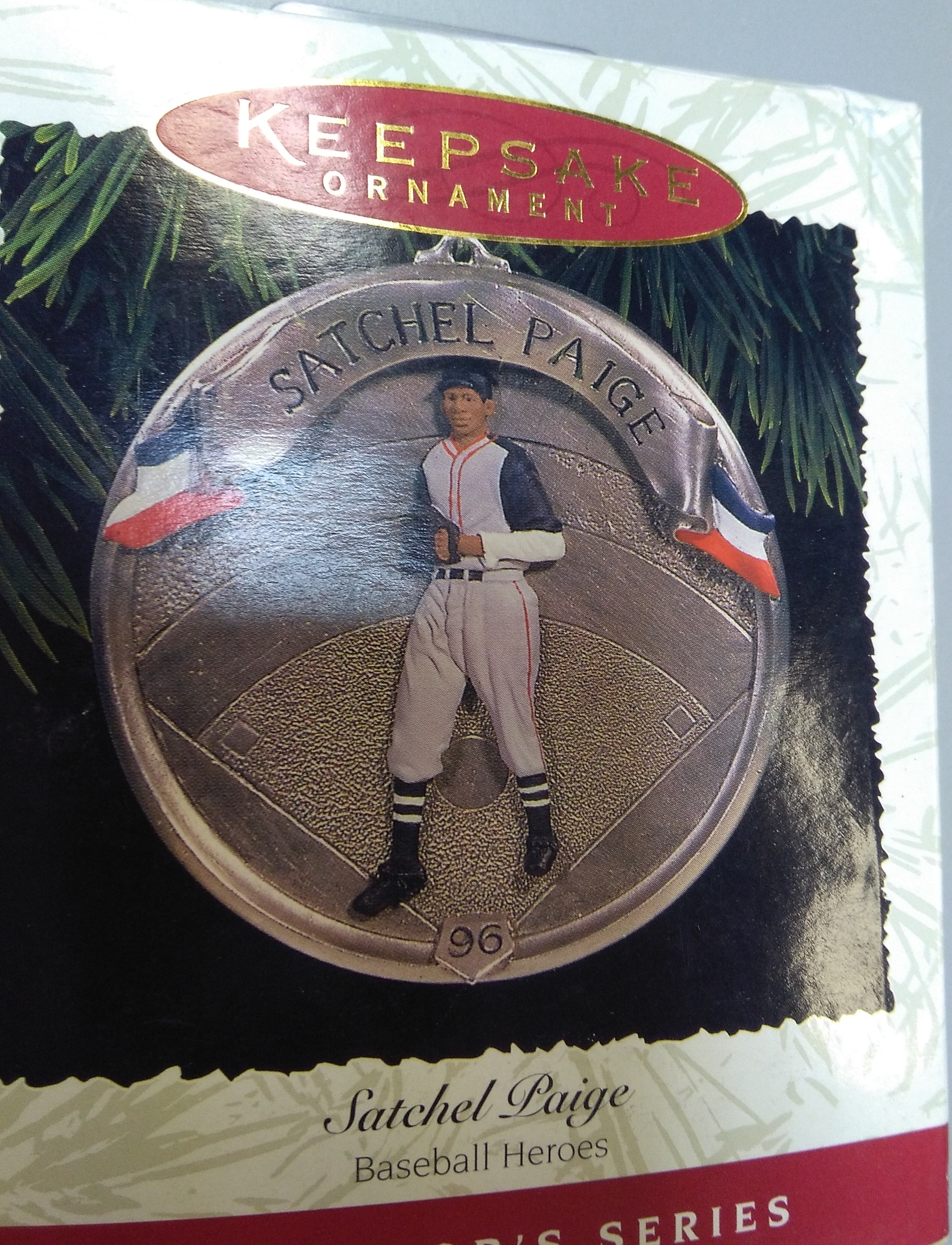Satchel Paige Christmas Ornament